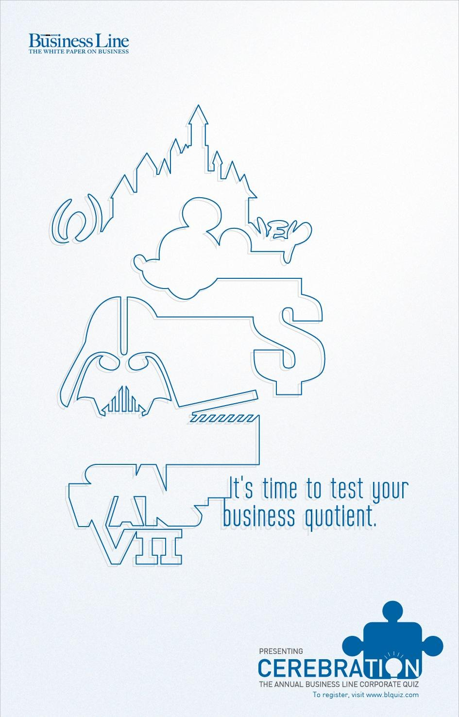Business Line Print Ad -  Test, 1