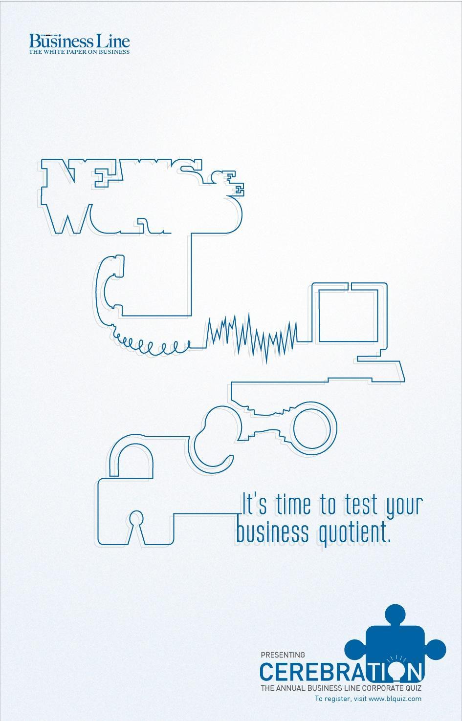 Business Line Print Ad -  Test, 3