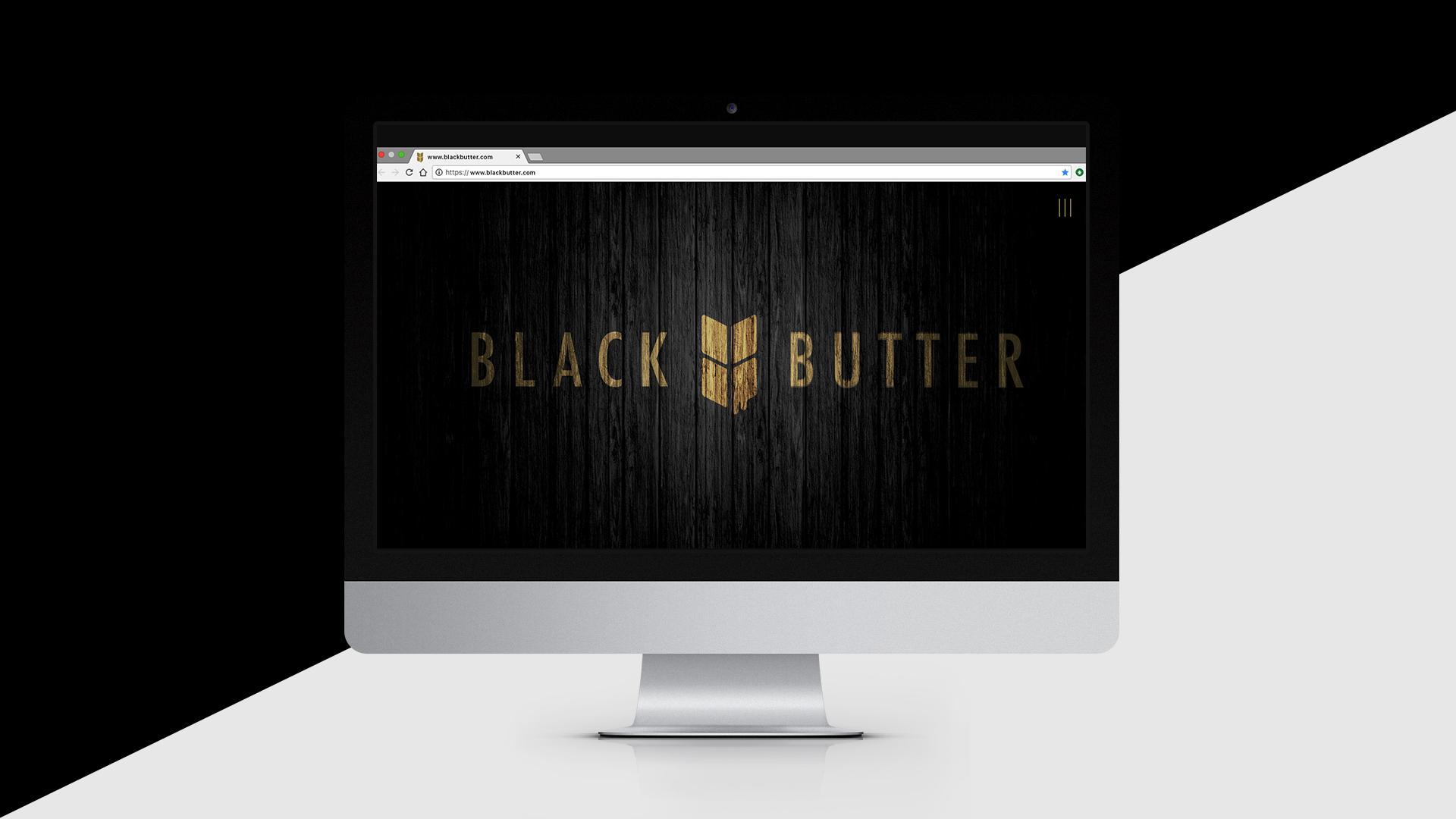 Black Butter Design Ad - Brand Identity