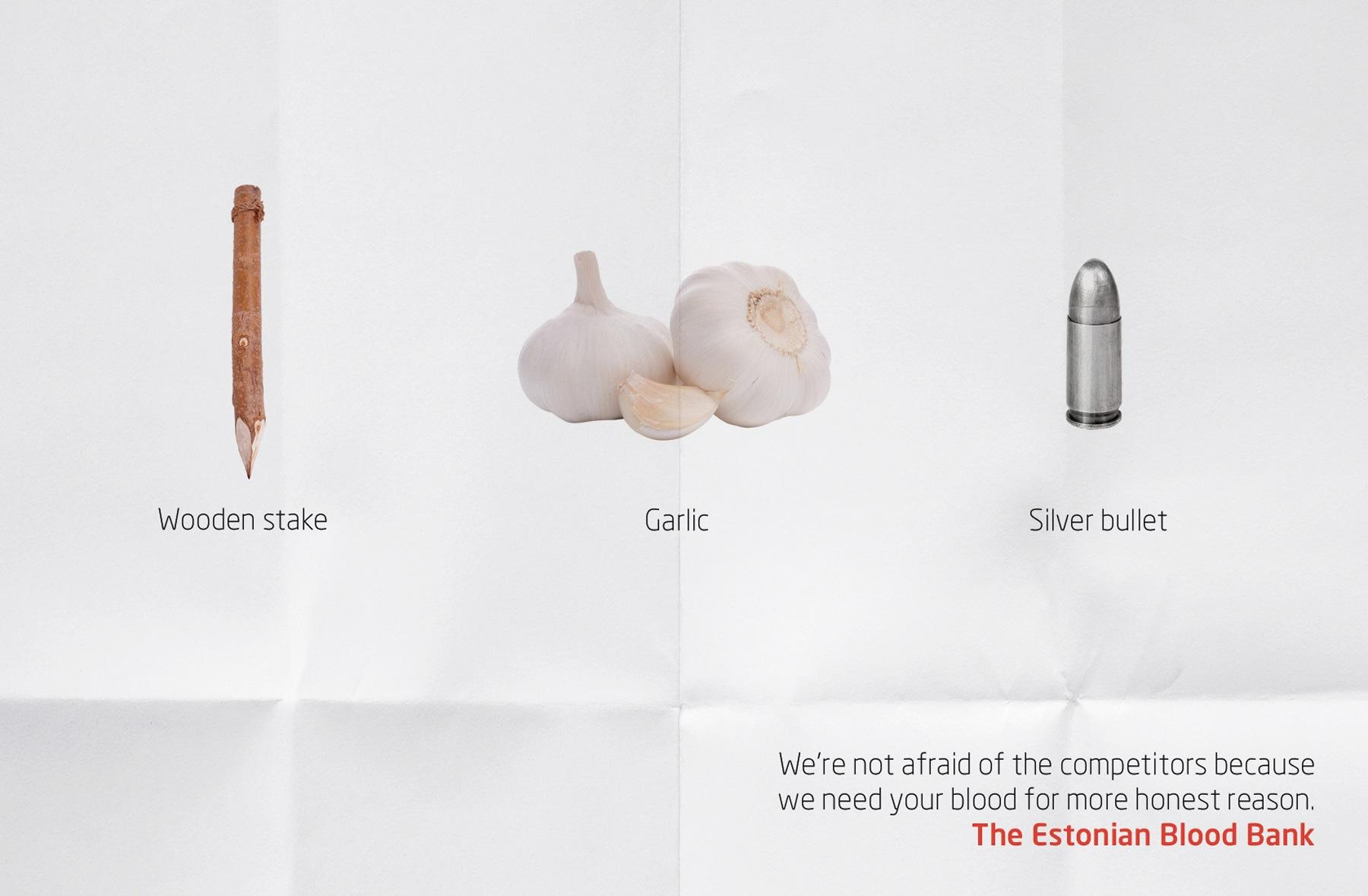 The Estonian Blood Bank Print Ad -  Need your blood, 3
