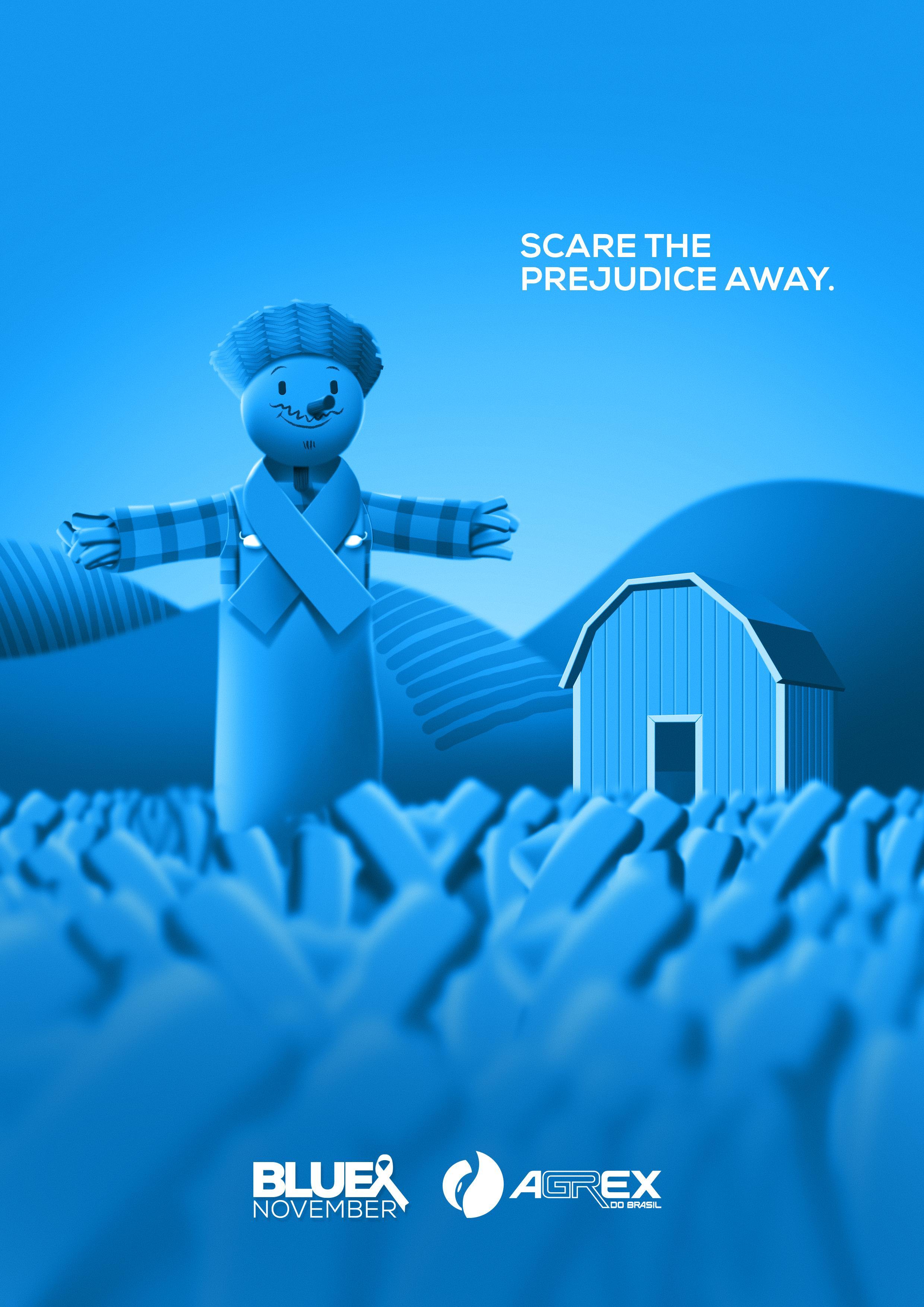 Agrex do Brasil Digital Ad - Scare the Prejudice Away