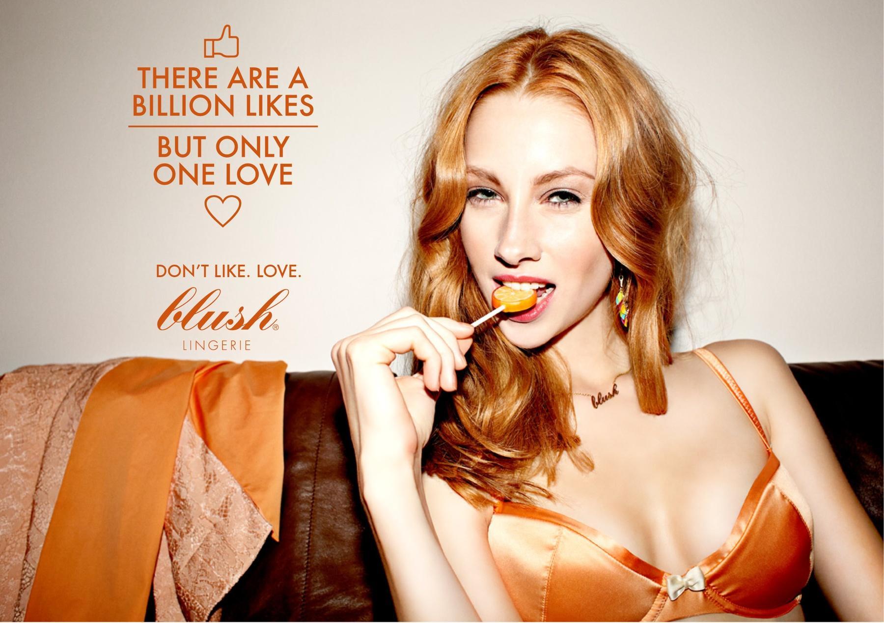 Blush Print Ad -  Facebook, 2