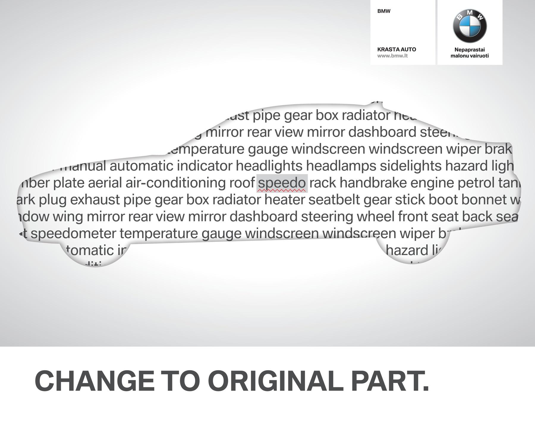 BMW Print Ad -  Change to original, 1