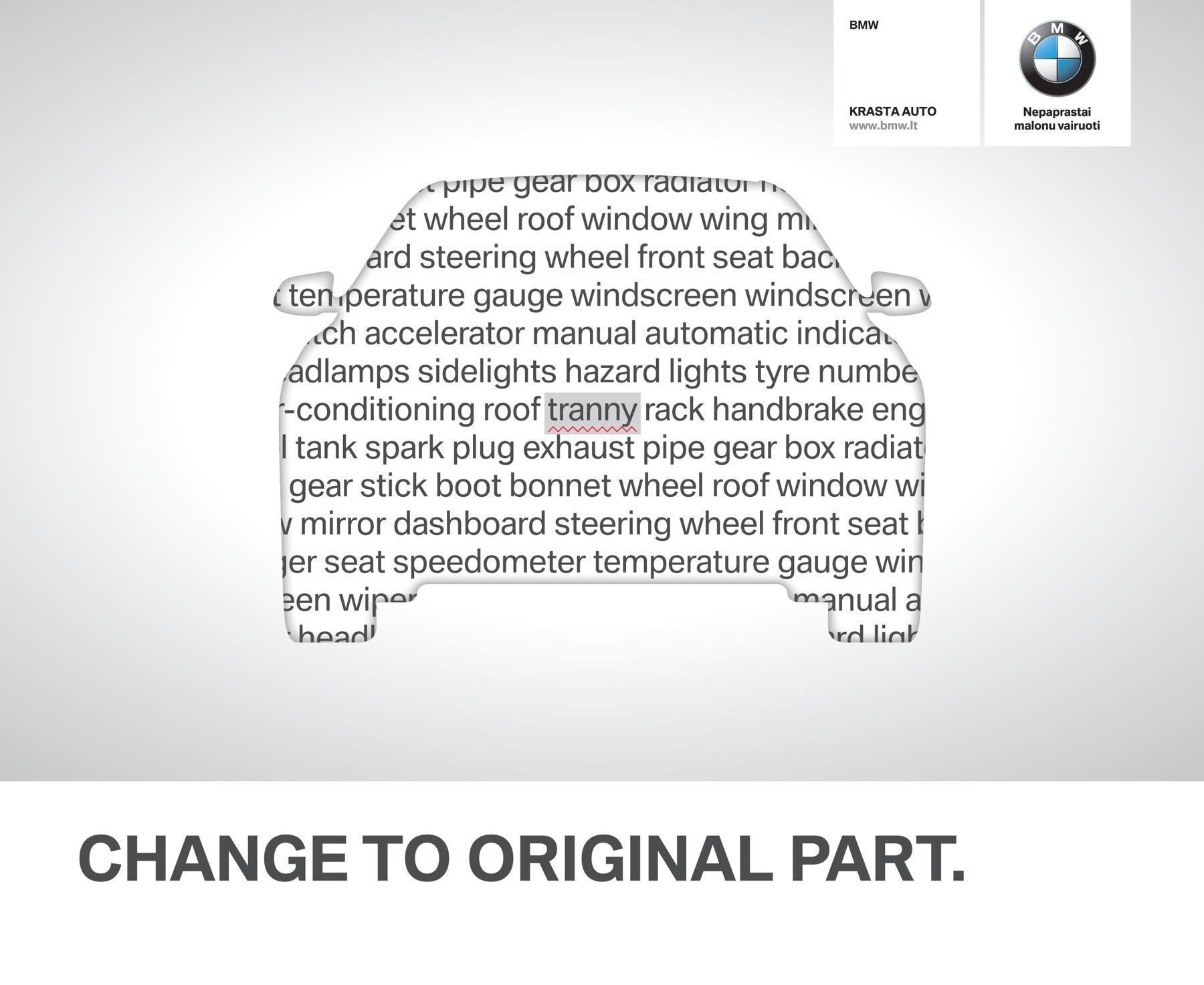 BMW Print Ad -  Change to original,