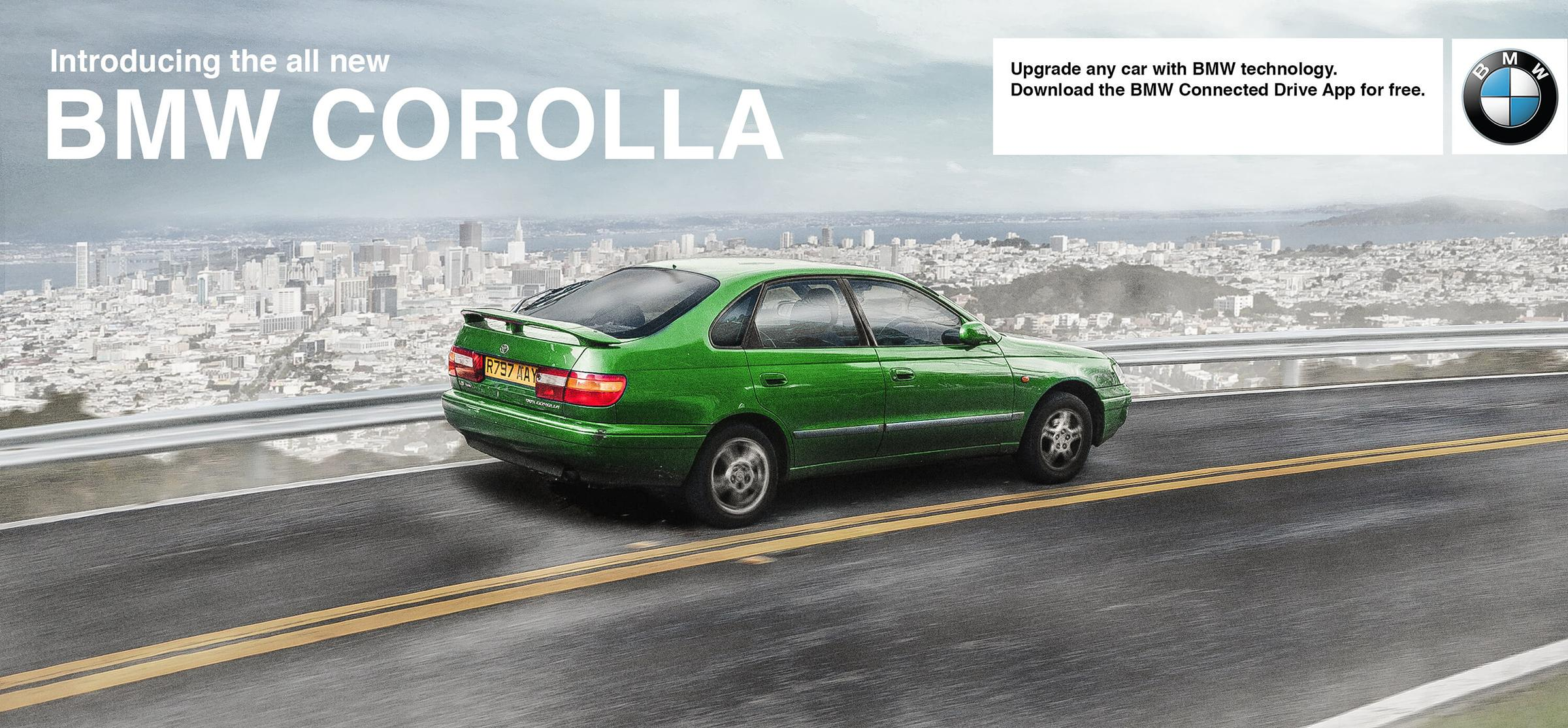 BMW Outdoor Ad - Corolla