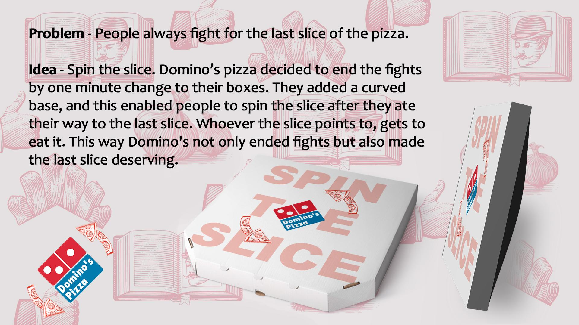 Domino\'s Pizza Design Advert By : Spin the Slice | Ads of the World™