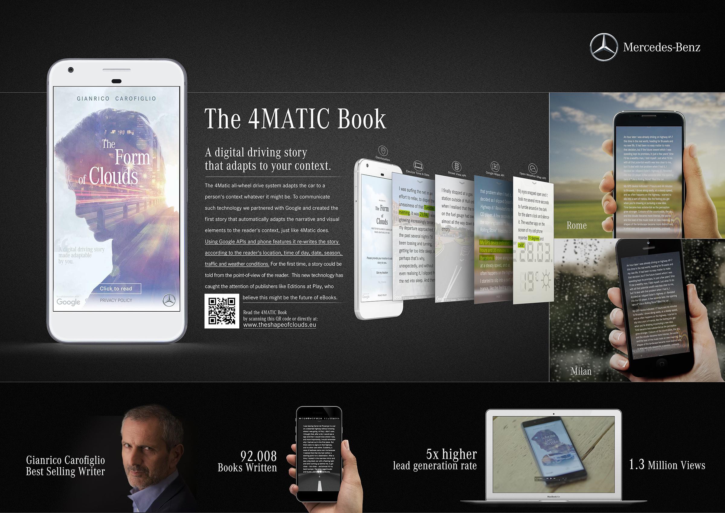 Mercedes Digital Ad - 4MATIC Adaptive Book