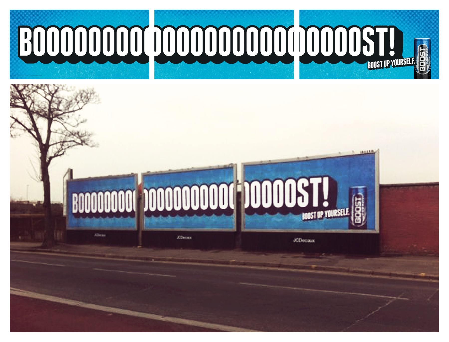 Boost Outdoor Ad -  Boooooooooooooooooooooost