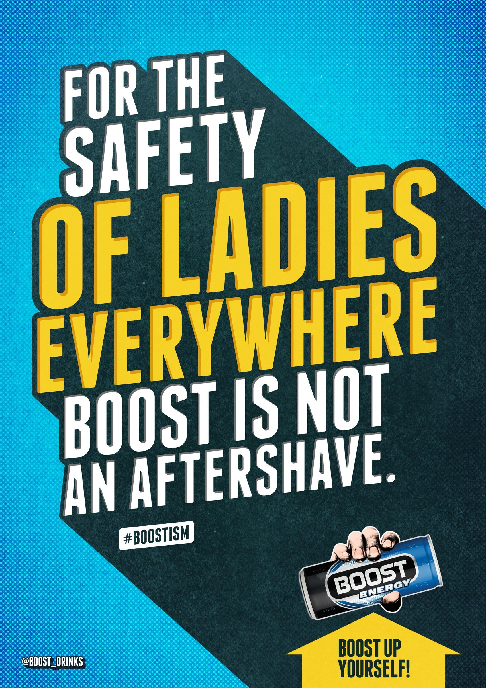 Boost Outdoor Ad -  Aftershave