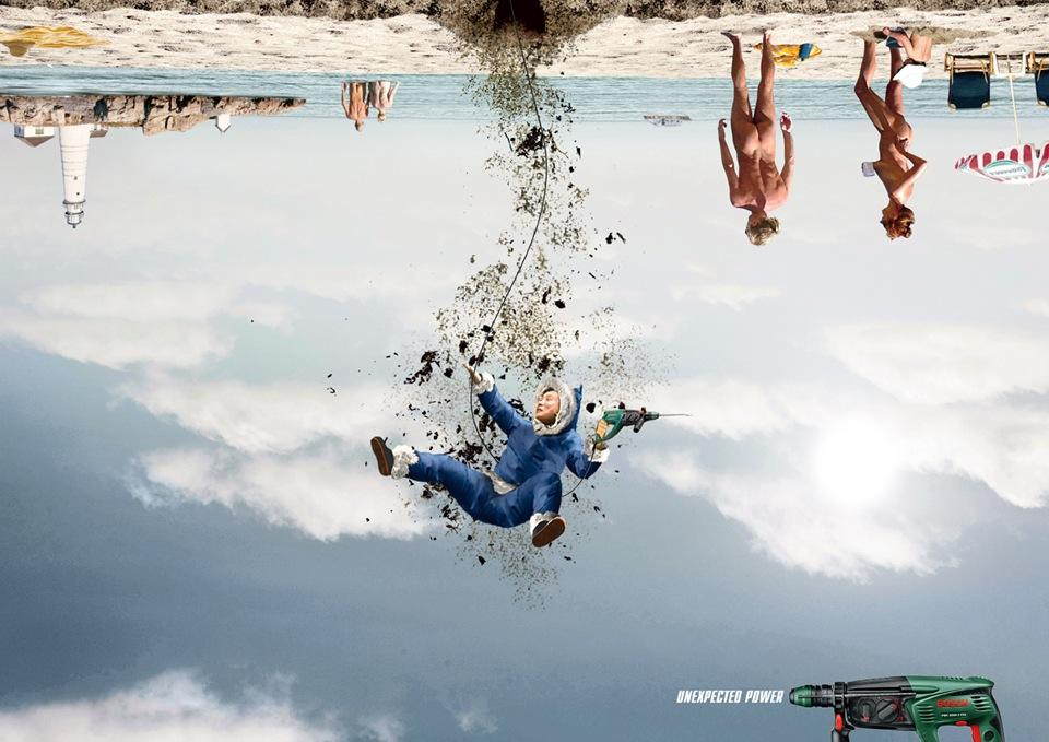 Bosch Print Ad -  Unexpected, 1
