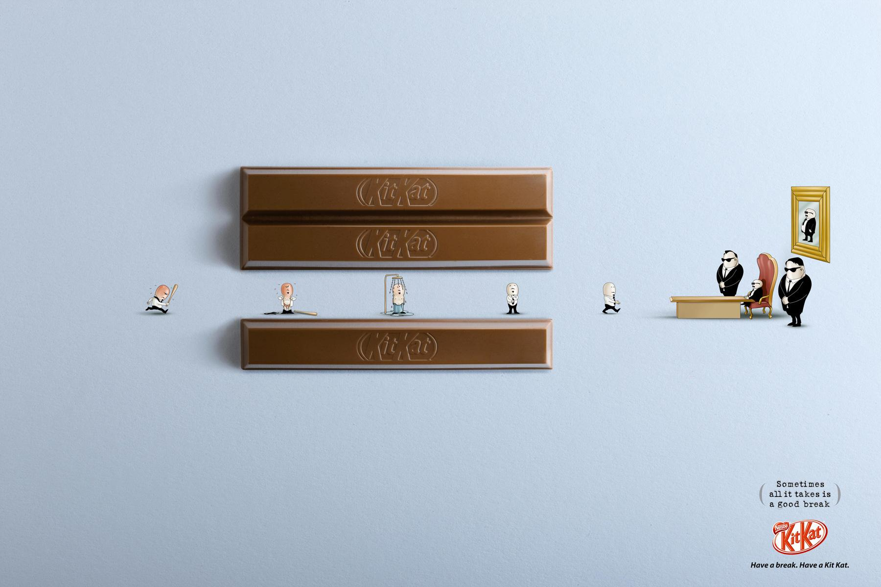 Kit Kat Print Advert By Jwt Boss Ads Of The World