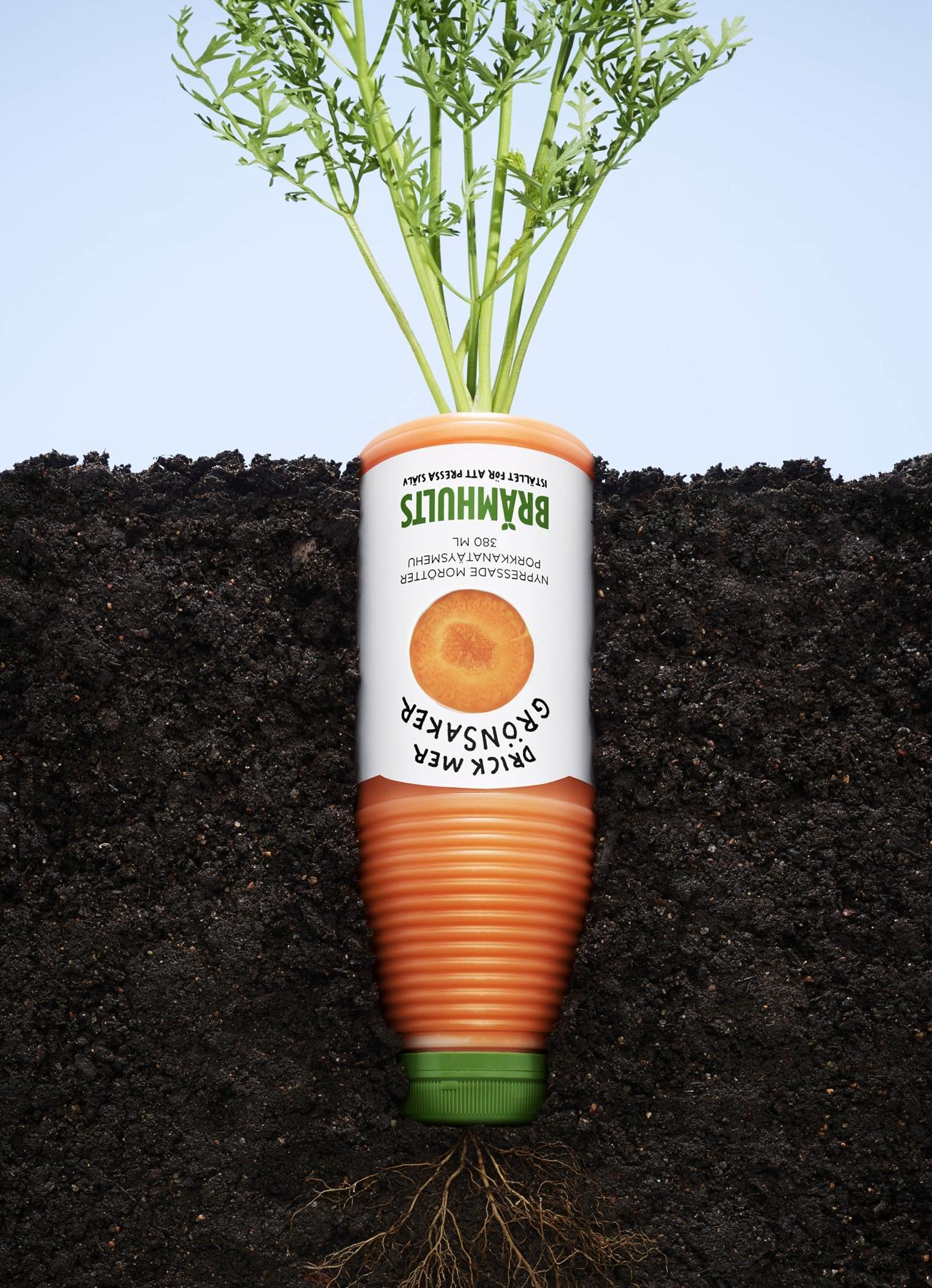 Bramhults Print Ad -  Carrot
