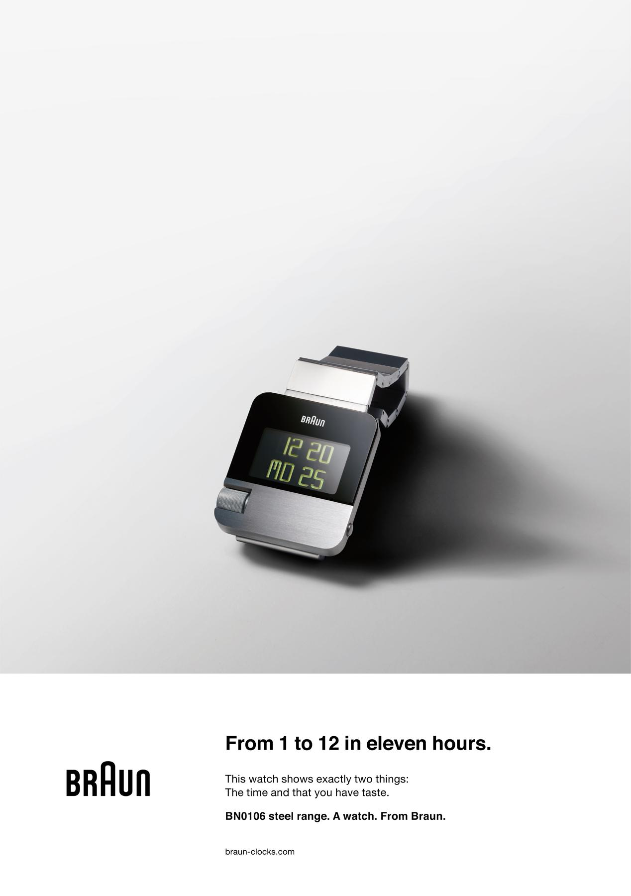 Braun Print Ad -  Back to the future,
