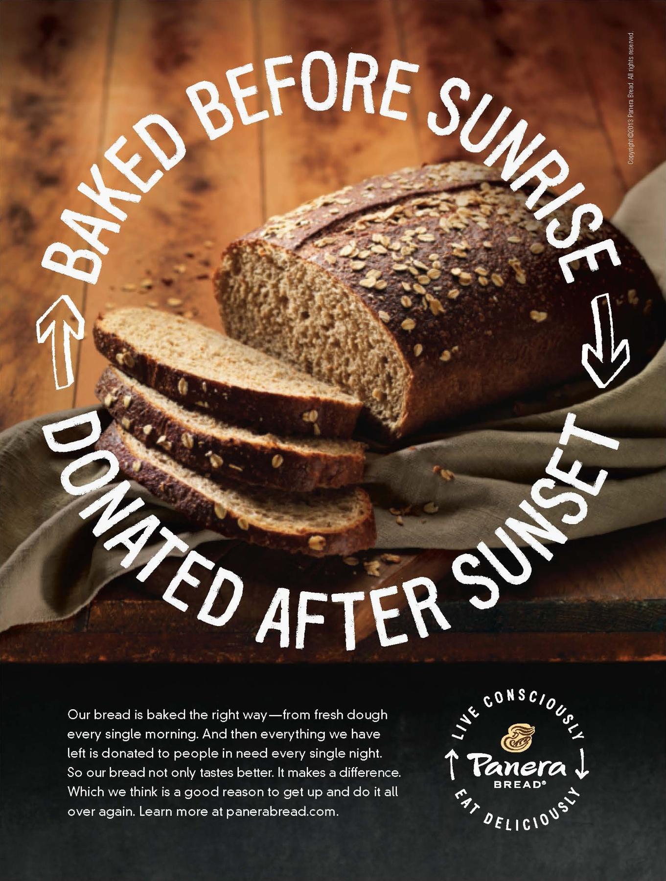 Panera Print Ad -  Bread