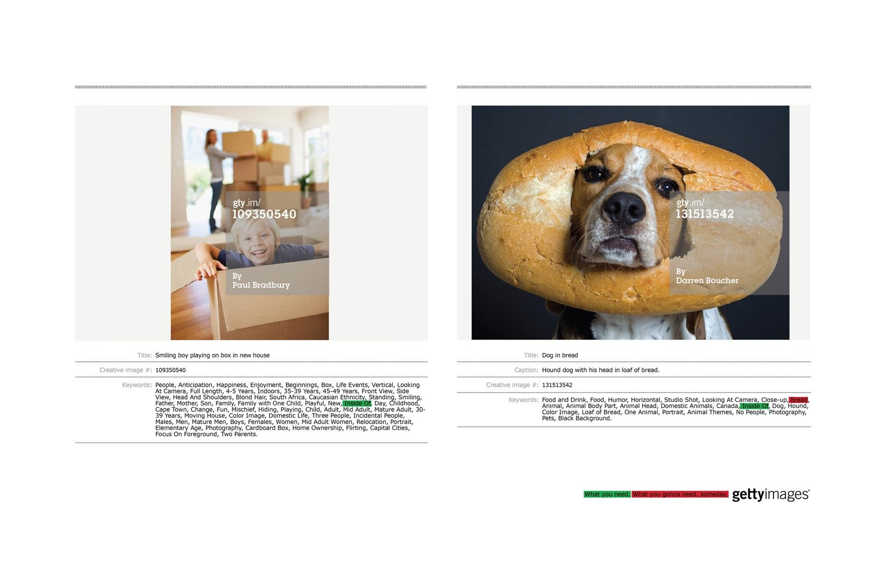 Getty Images Print Ad -  Bread