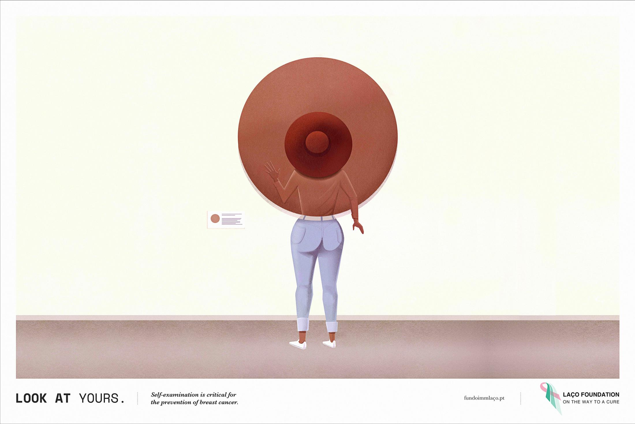 Laço Foundation Print Ad - Breast, 2