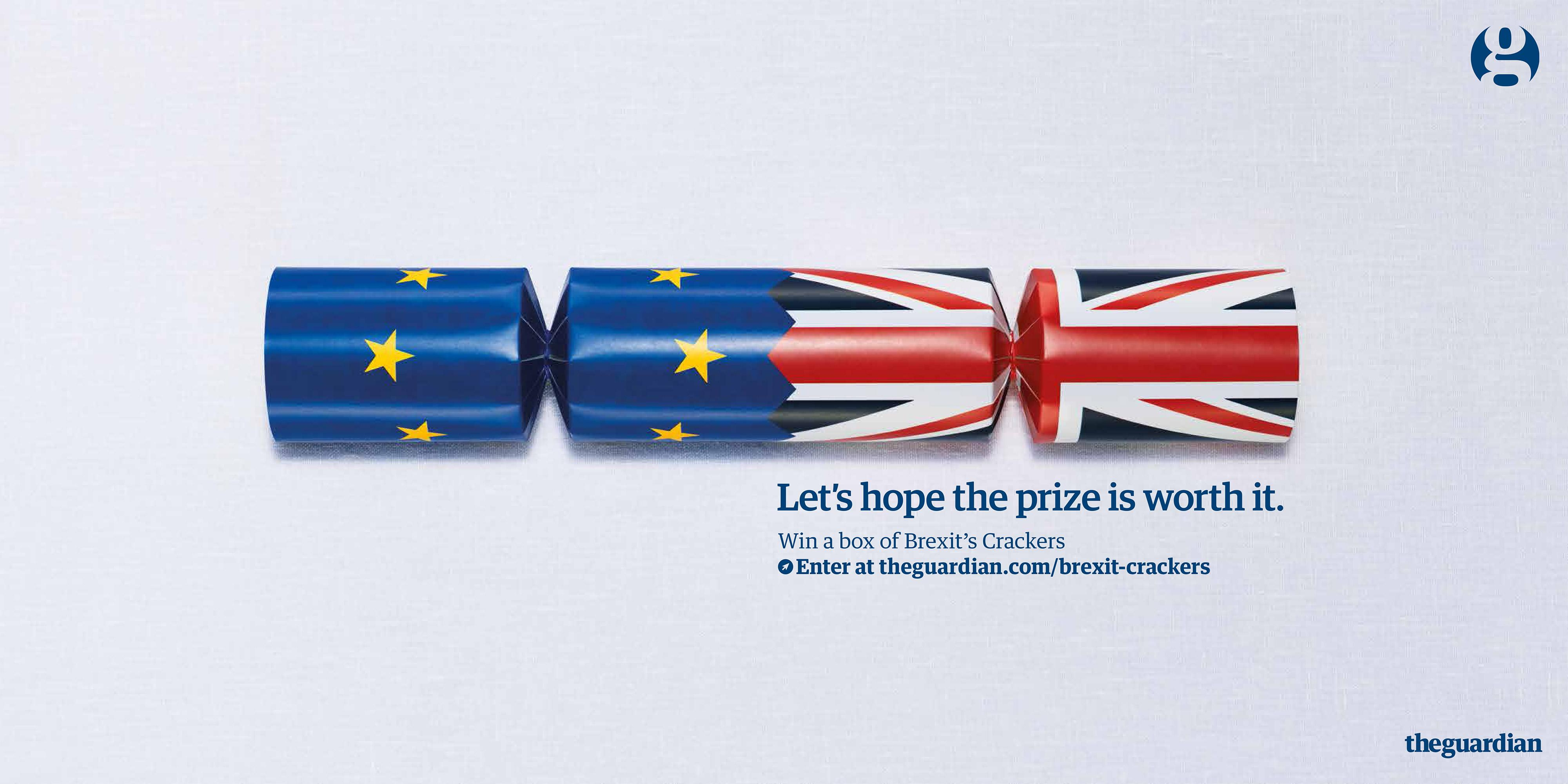 Guardian Print Ad - Brexit Christmas Crackers