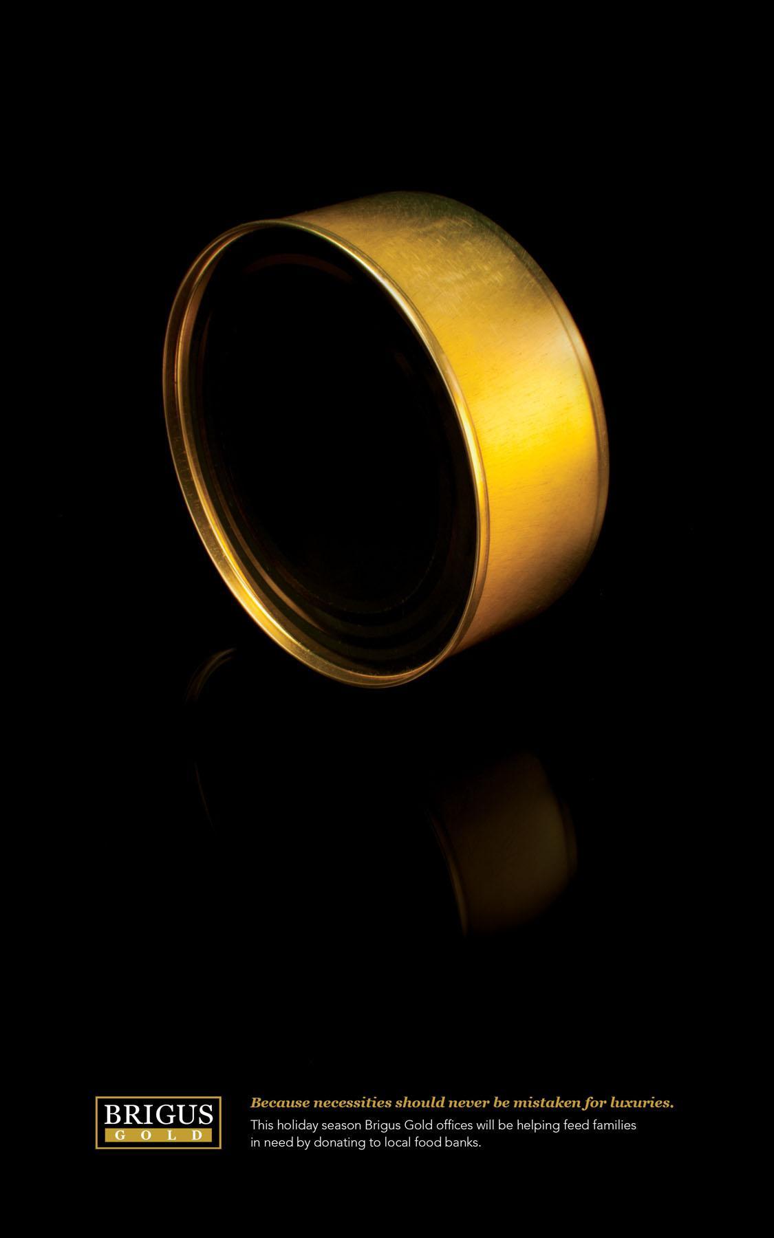 Brigus Gold Print Ad -  Bracelet