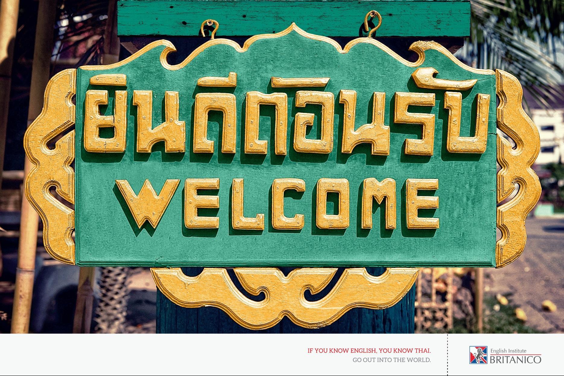 Británico Print Ad -  Thai