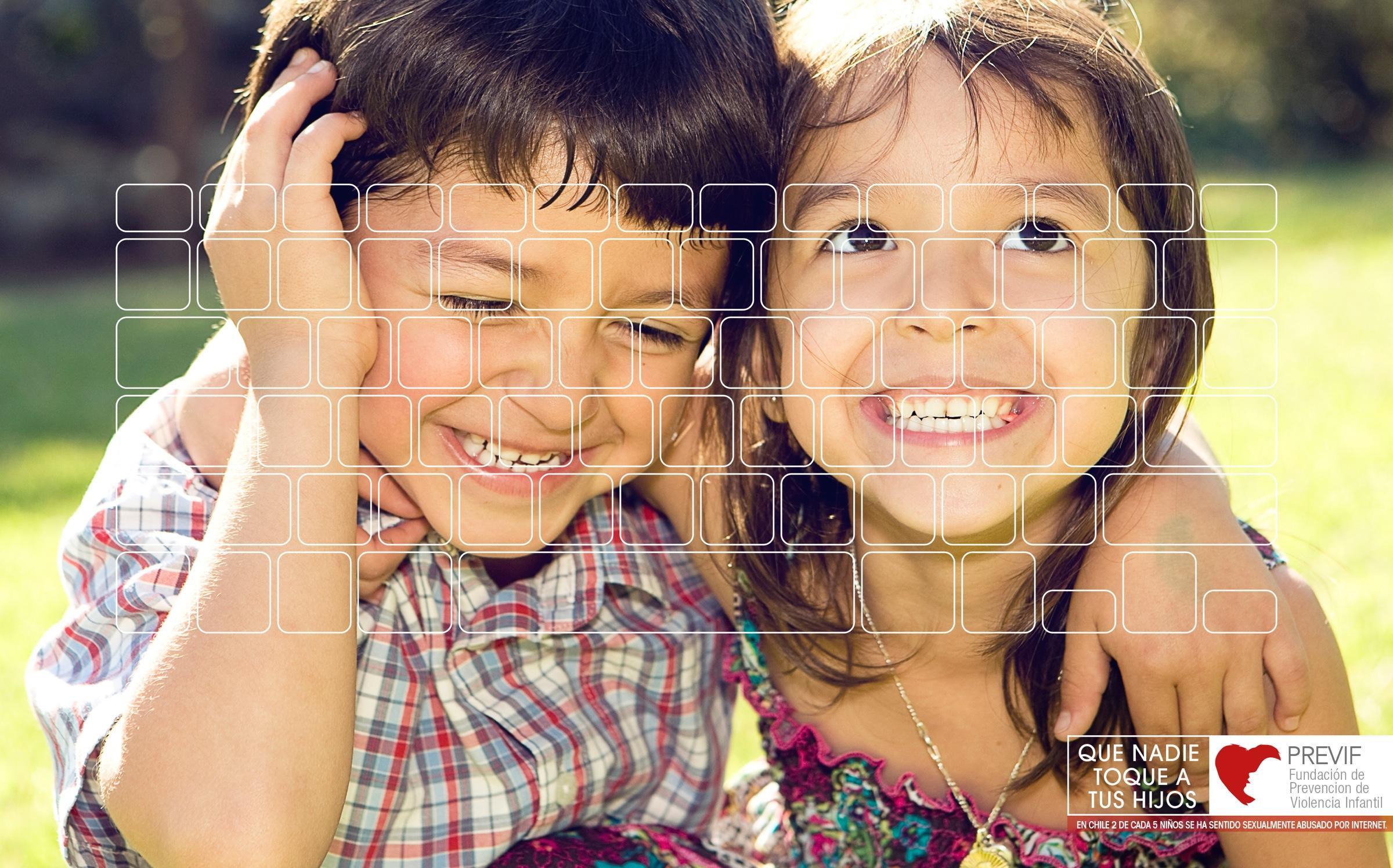 PREVIF Print Ad -  Siblings