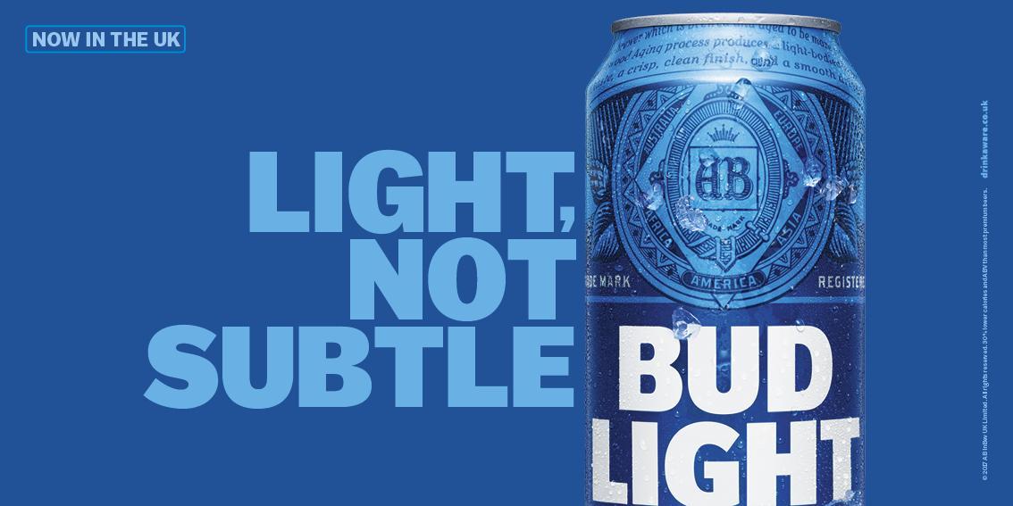 Bud Light Outdoor Advert By Wieden Kennedy Not Subtle