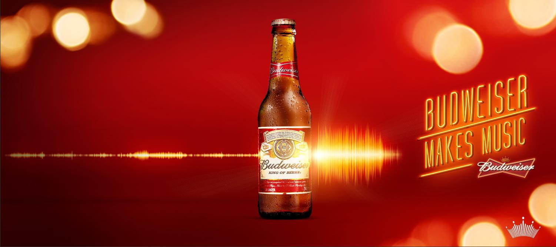 Budweiser Outdoor Ad - Budweiser Makes Music, 3
