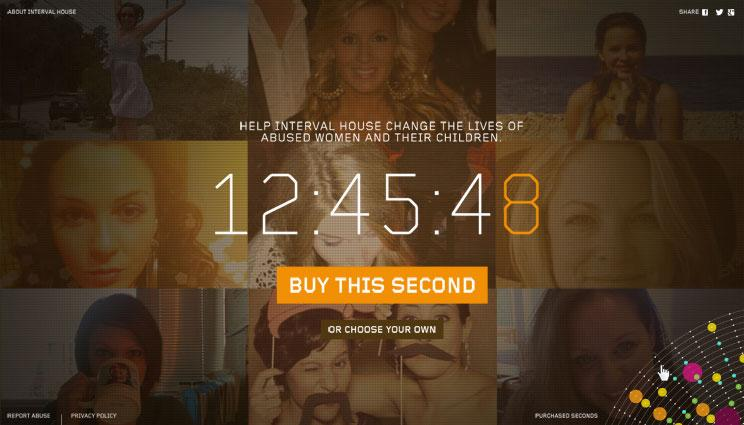 Interval House Digital Ad -  Every Second Matters