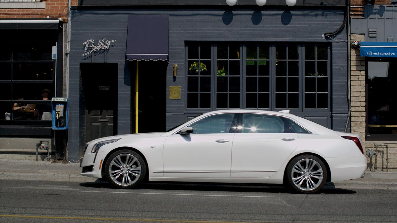 Cadillac Direct Ad - CT6 Egg