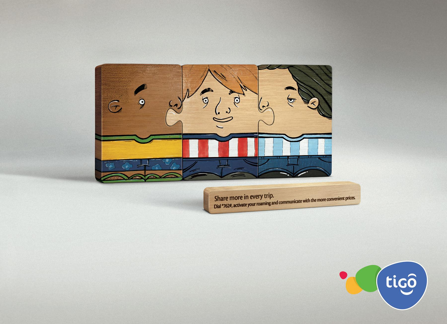 Tigo Print Ad -  Puzzle, 1