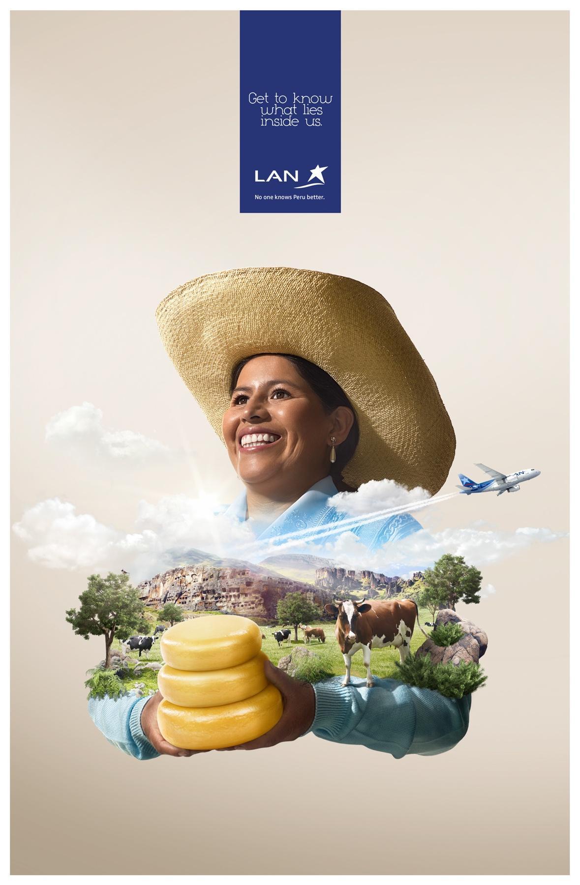 LAN Print Ad -  Cajamarca