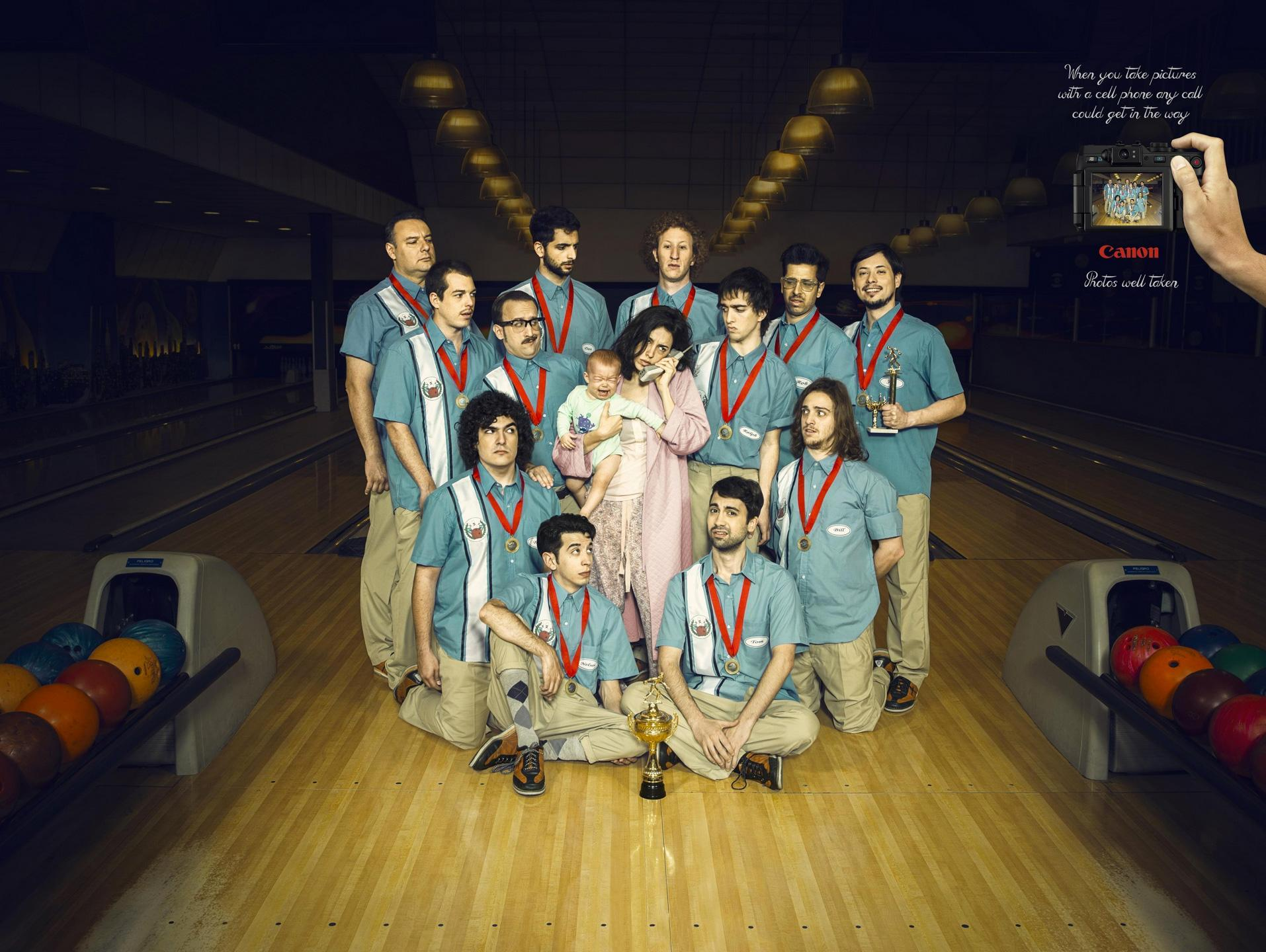 Canon Outdoor Ad -  Bowling