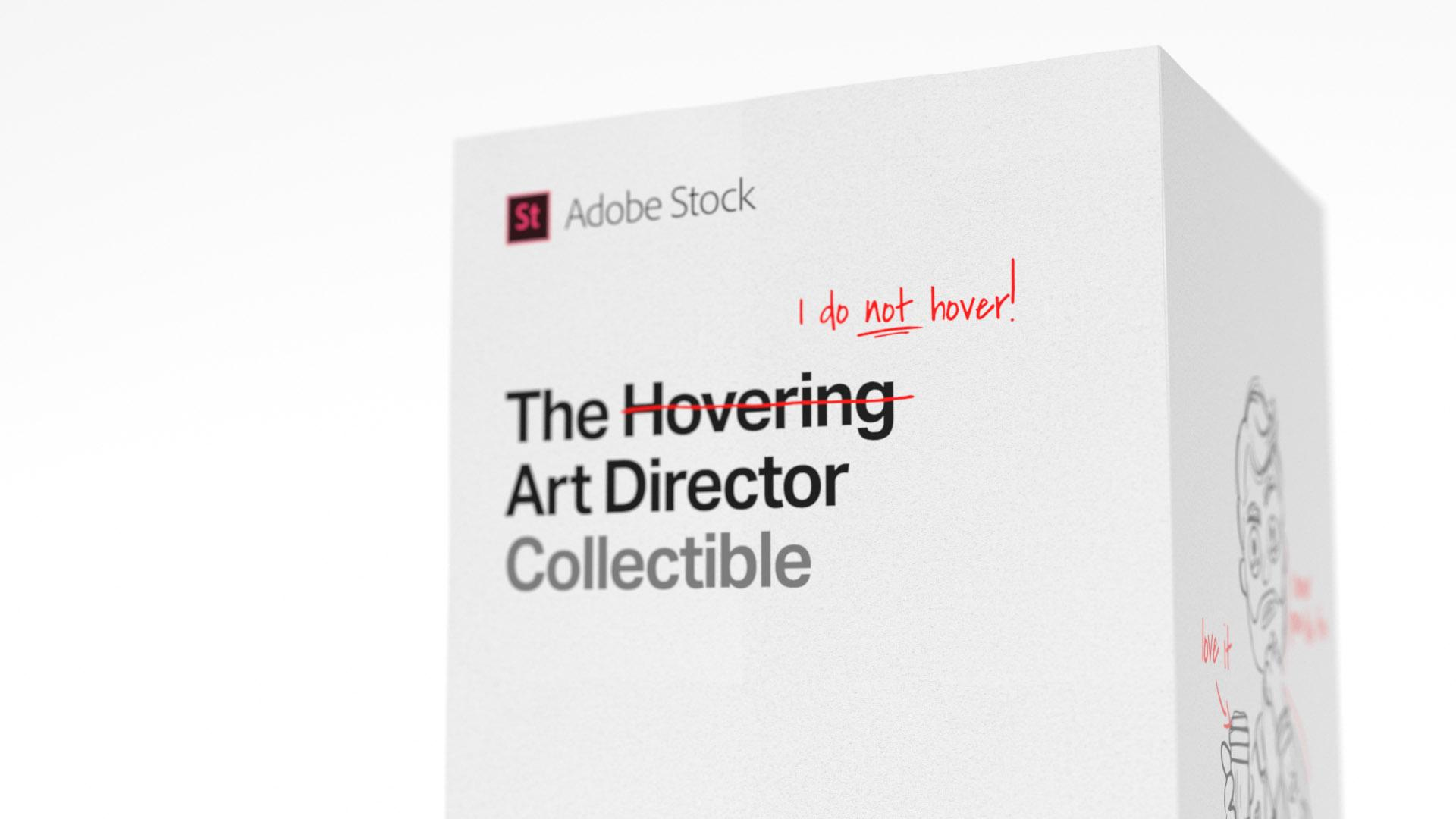 Adobe Direct Ad - Hovering art director