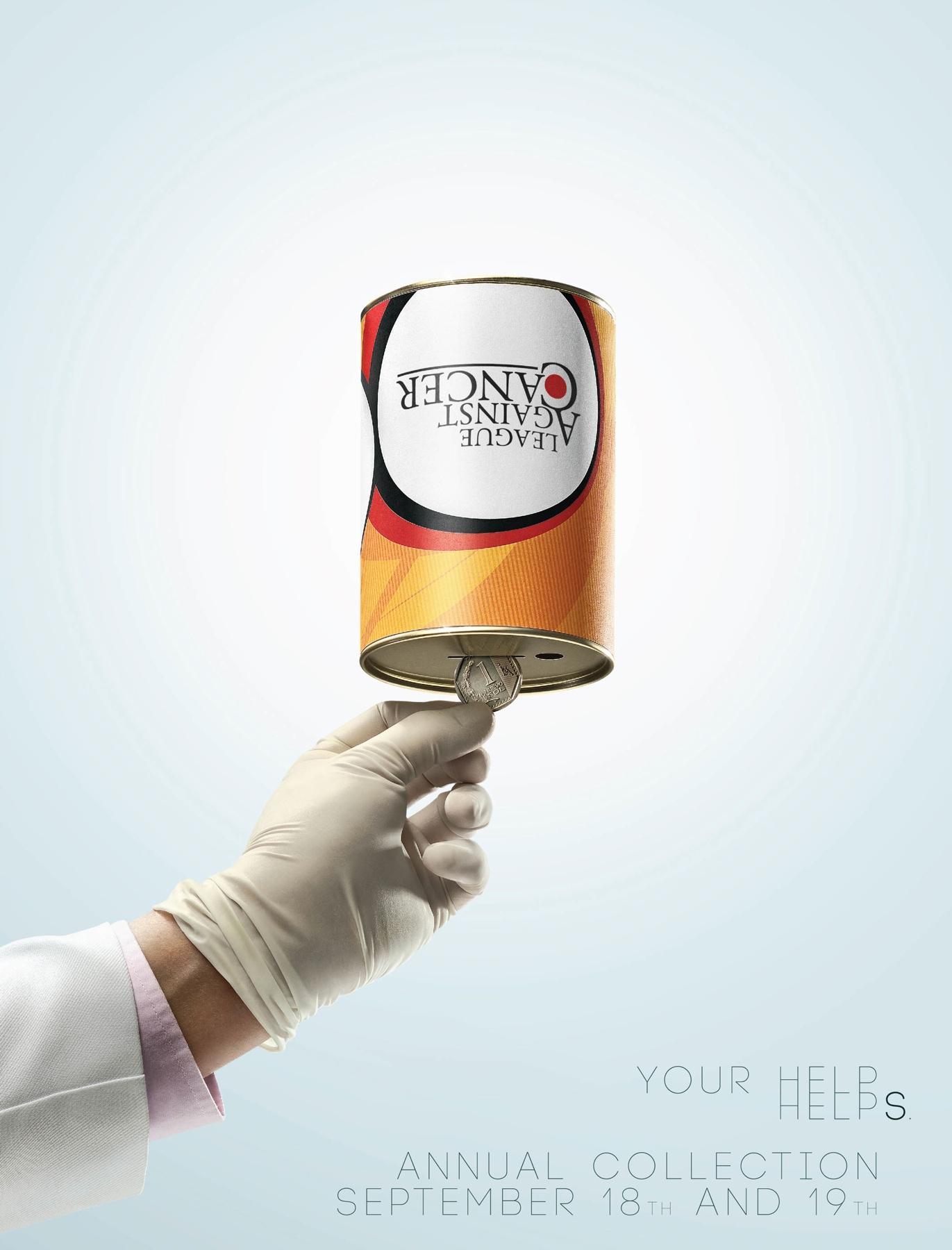 League against cancer Print Ad -  Can