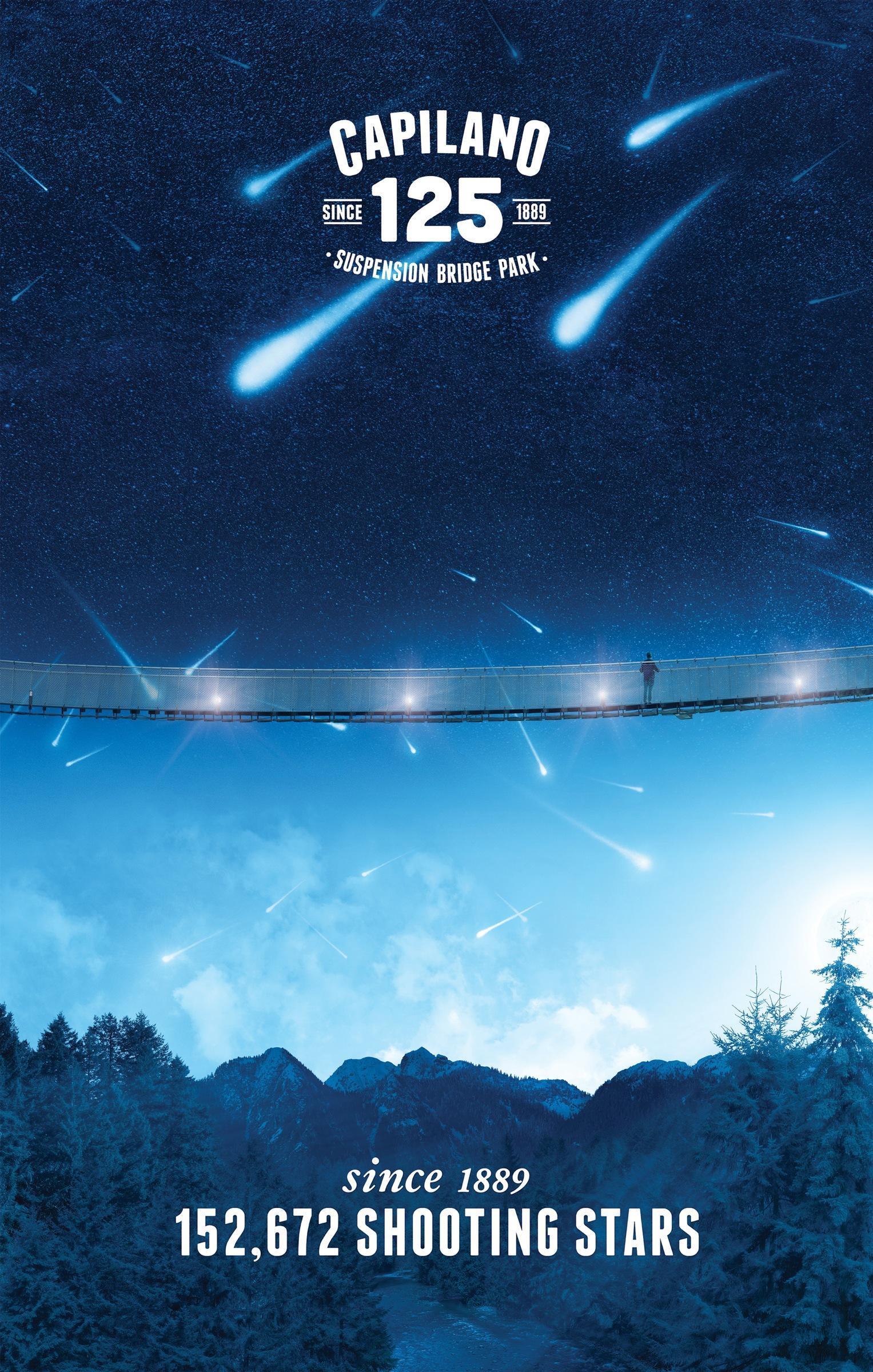Capilano Outdoor Ad -  Shooting stars
