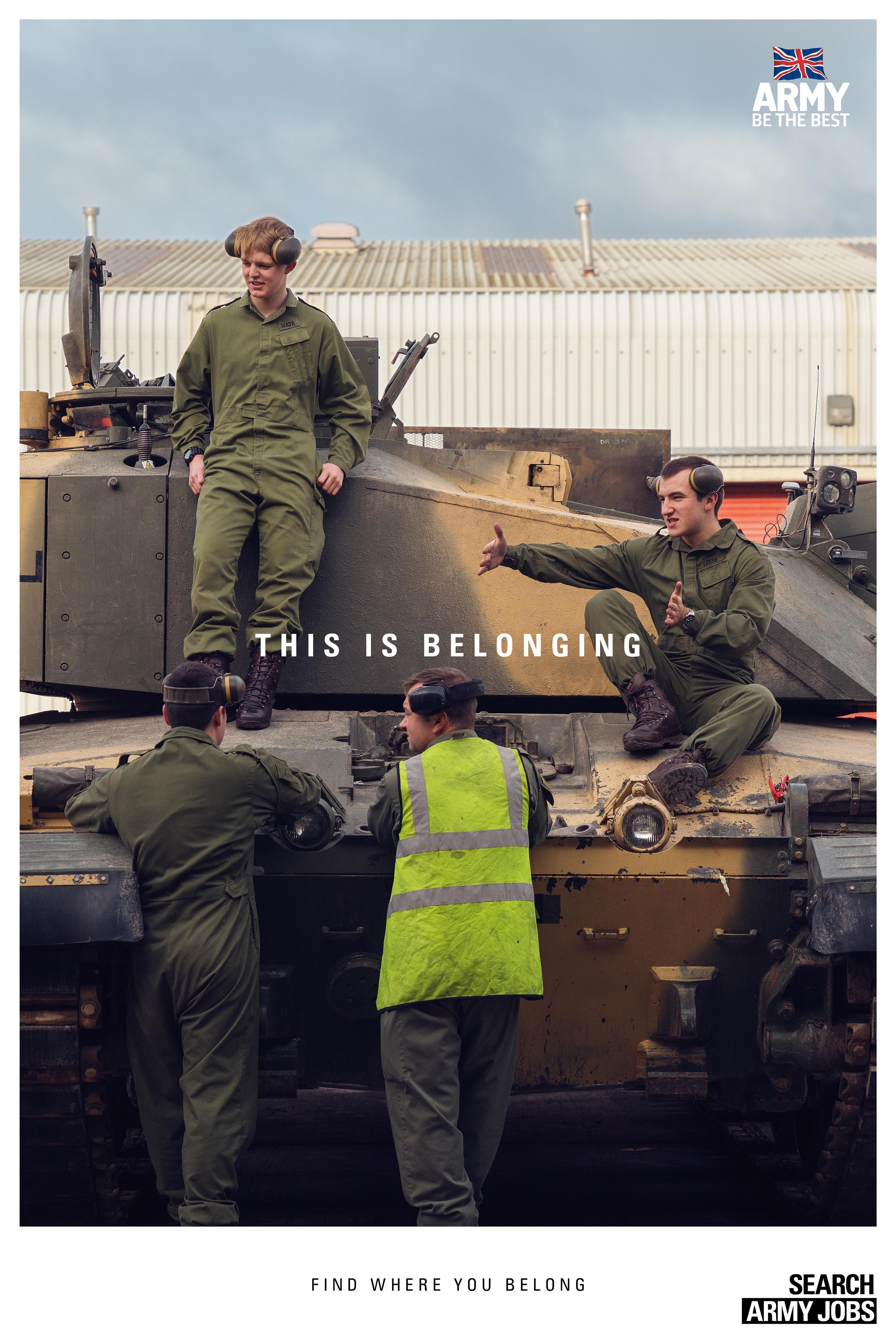 Army Outdoor Ad - This is belonging, 2