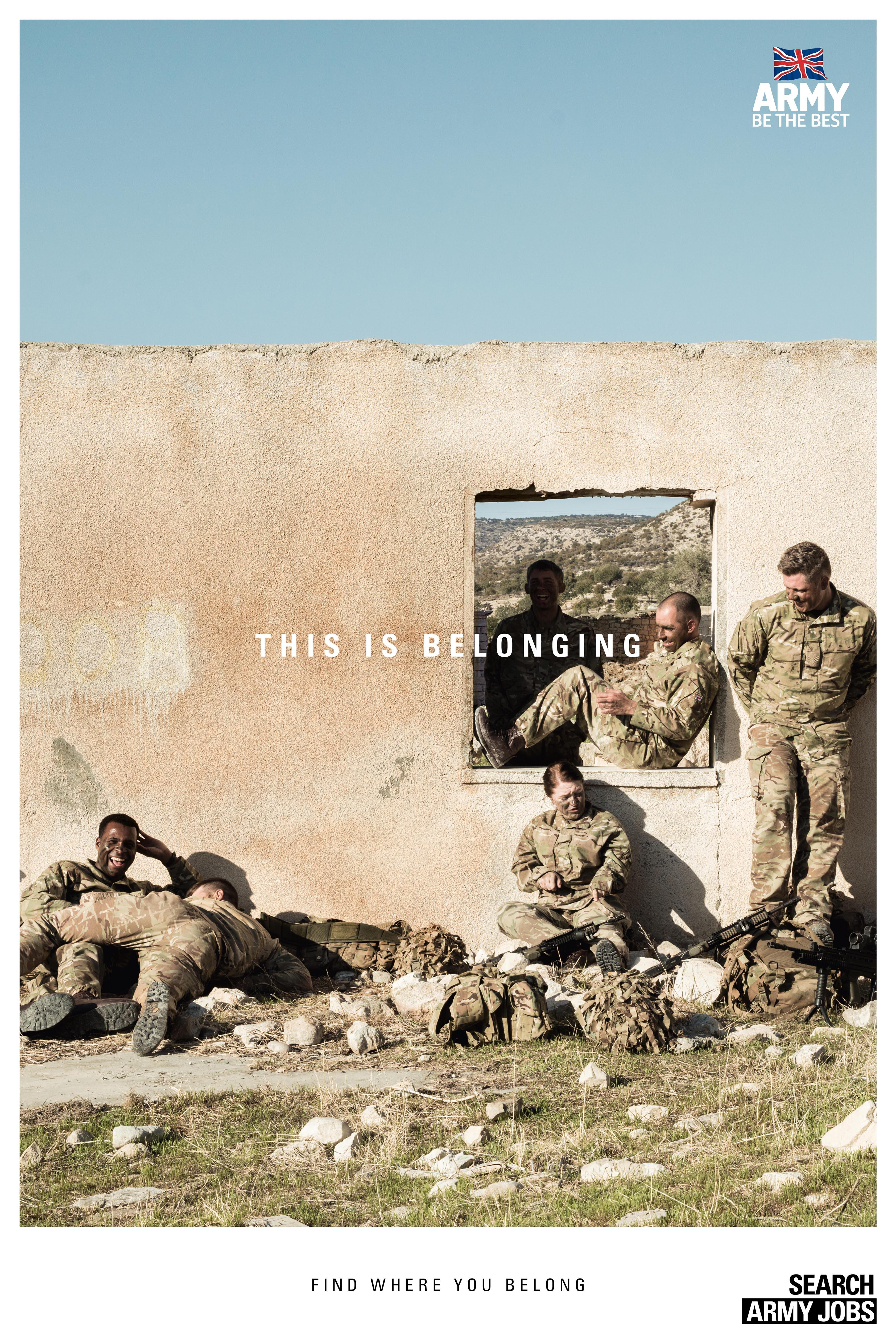 Army Outdoor Ad - This is belonging, 5