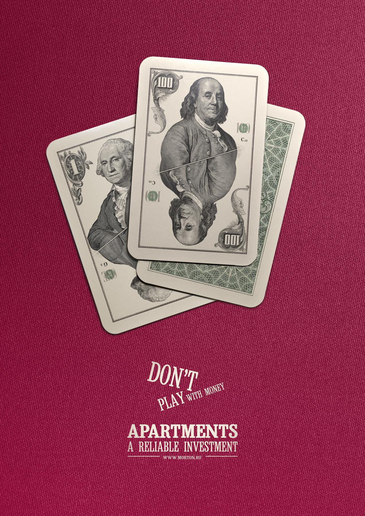 Morton Print Ad -  Playing cards