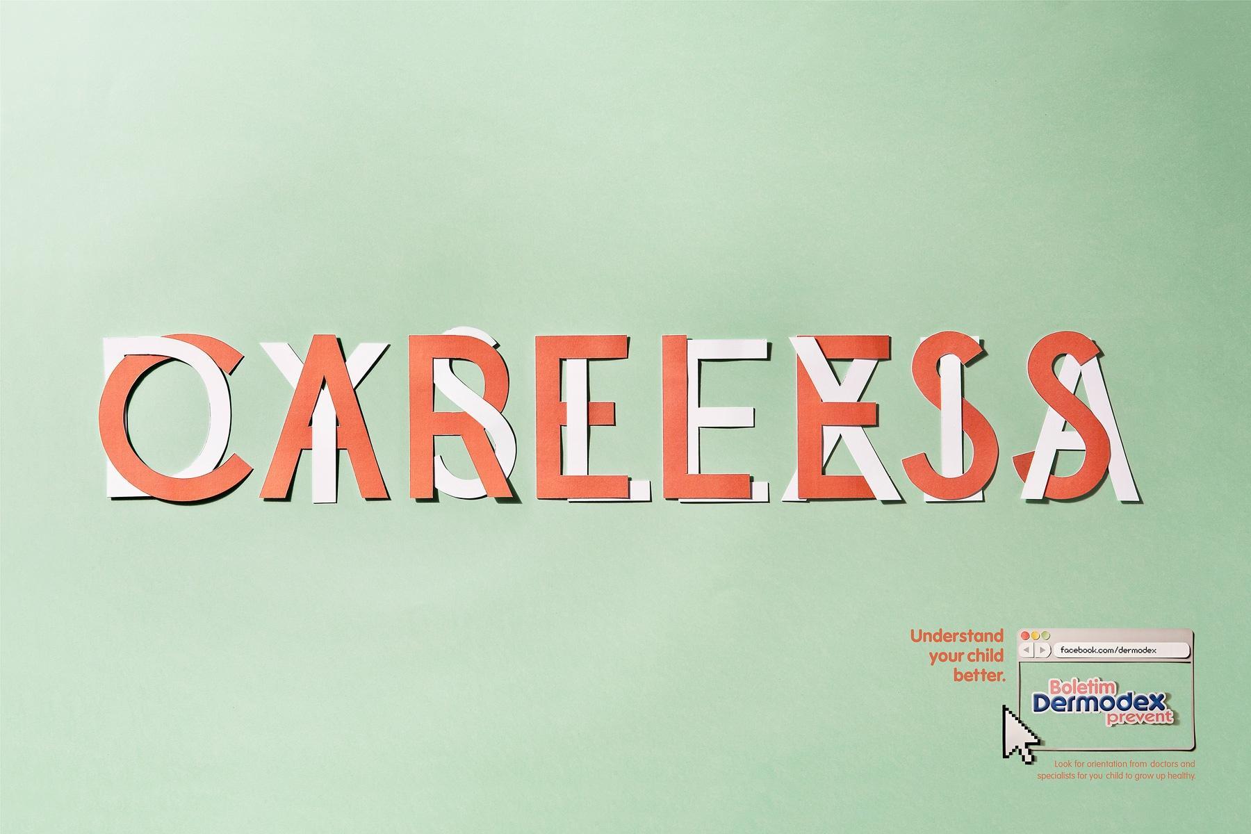 Dermodex Print Ad -  Careless
