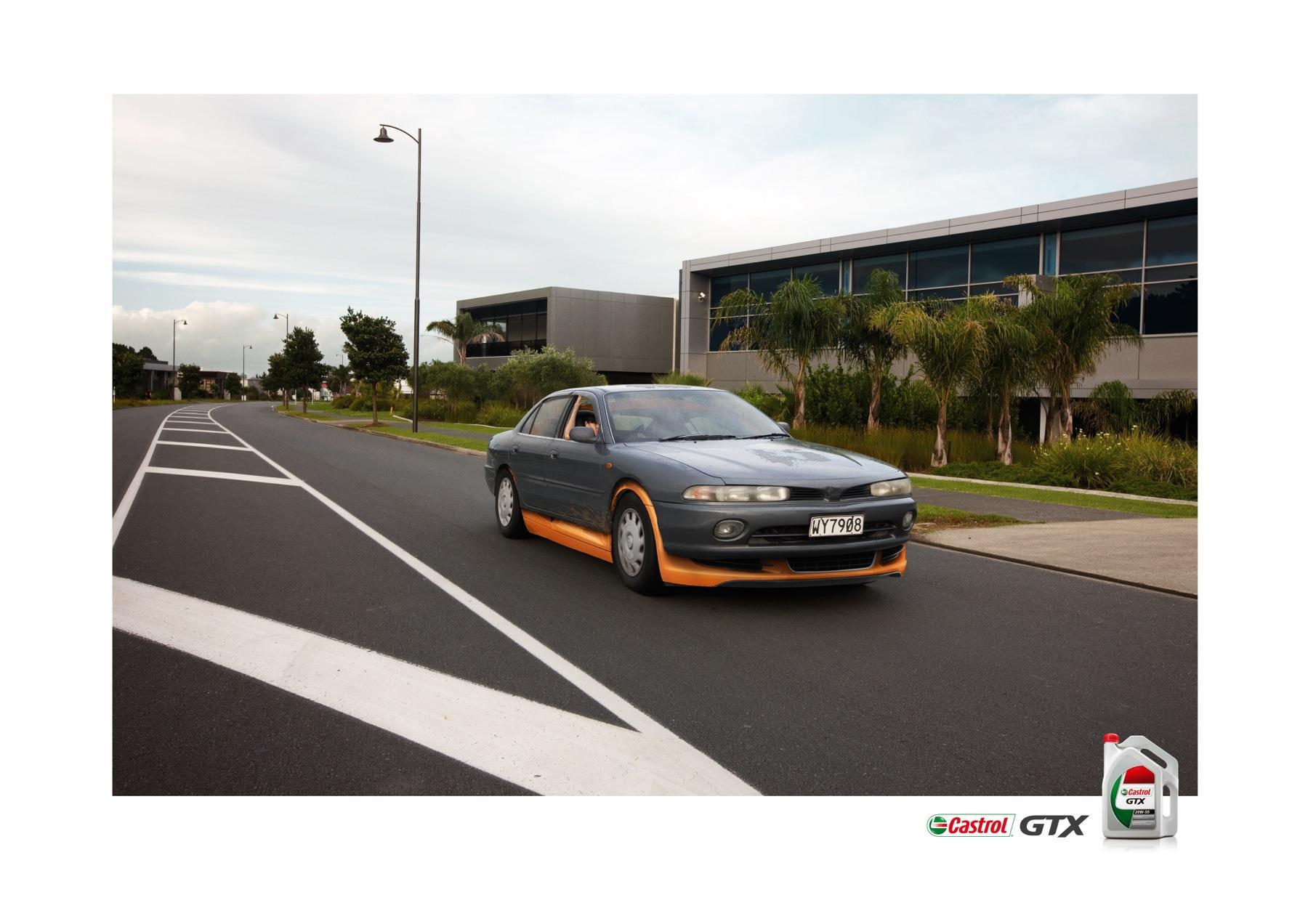 Castrol Print Ad -  Audi