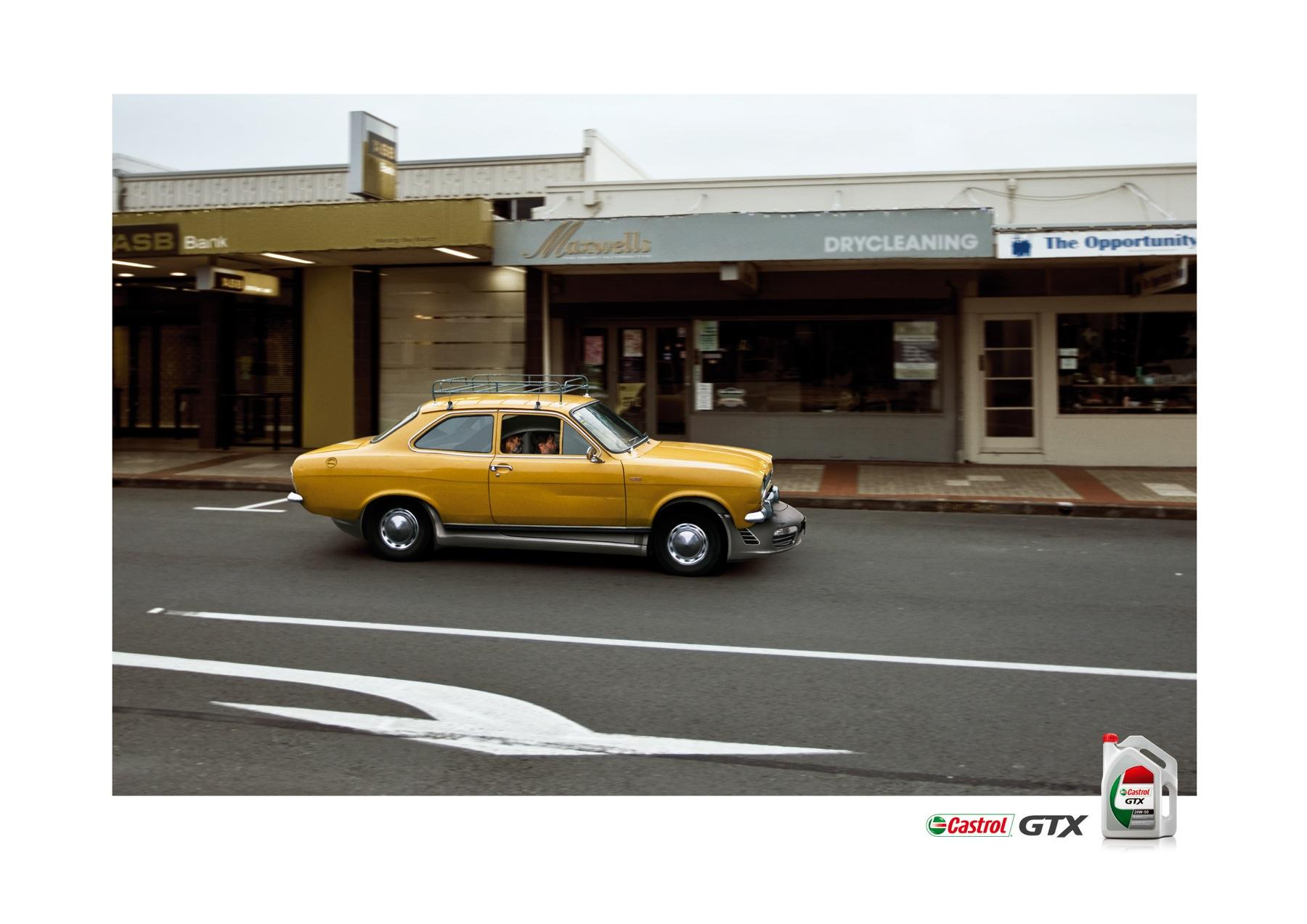 Castrol Print Ad -  Porsche