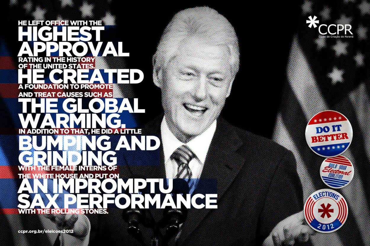 CCPR Print Ad -  Clinton