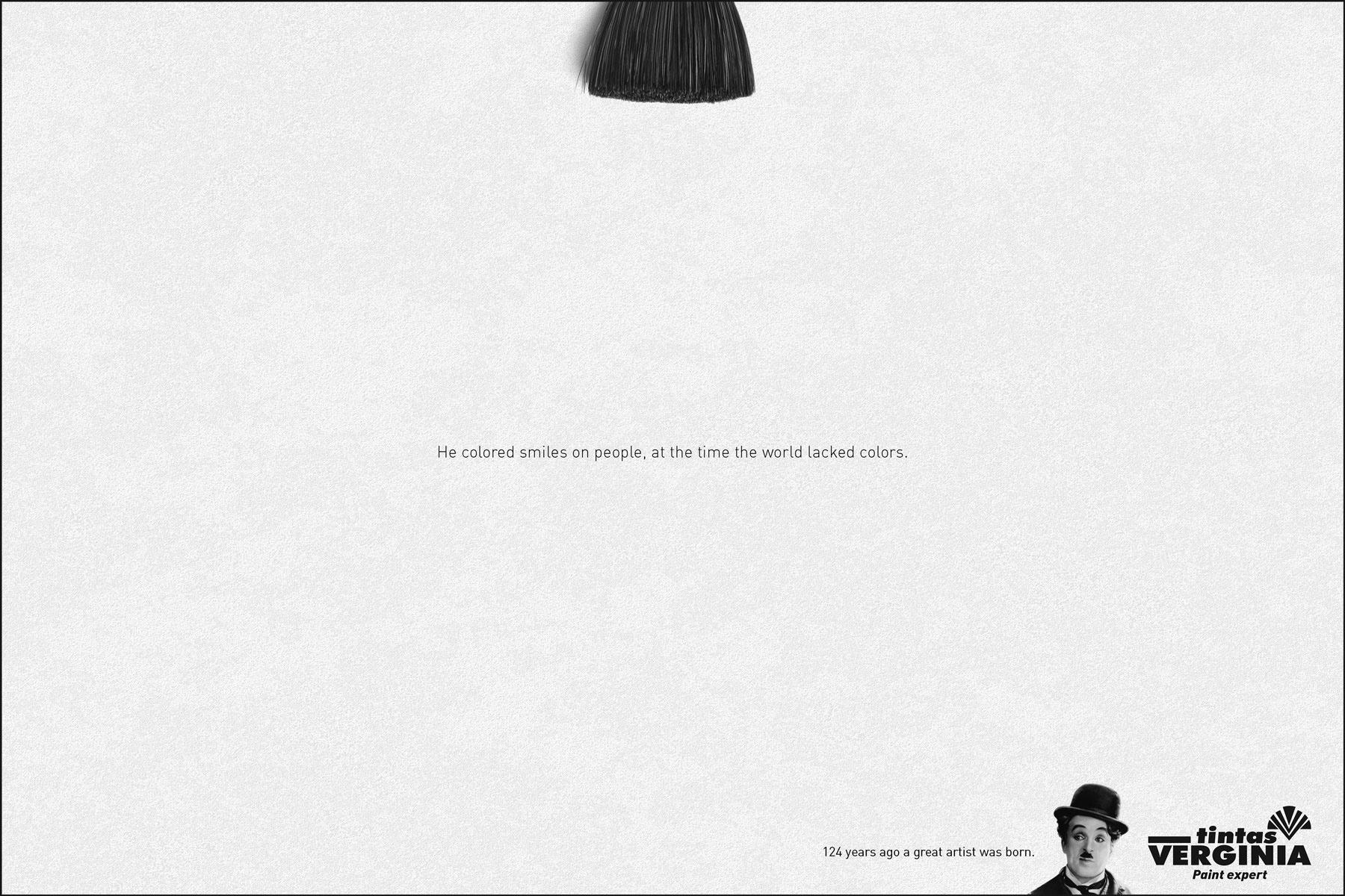 Tintas Verginia Print Ad -  Chaplin