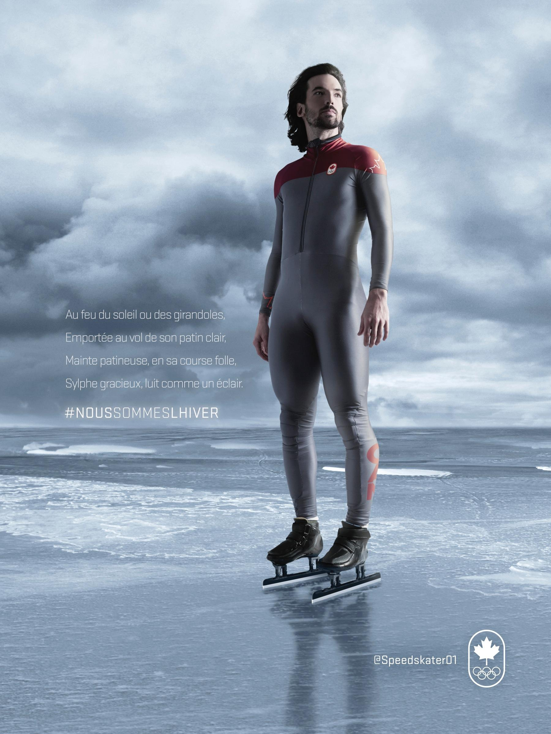Canadian Olympic Committee Print Ad -  #wearewinter, 1