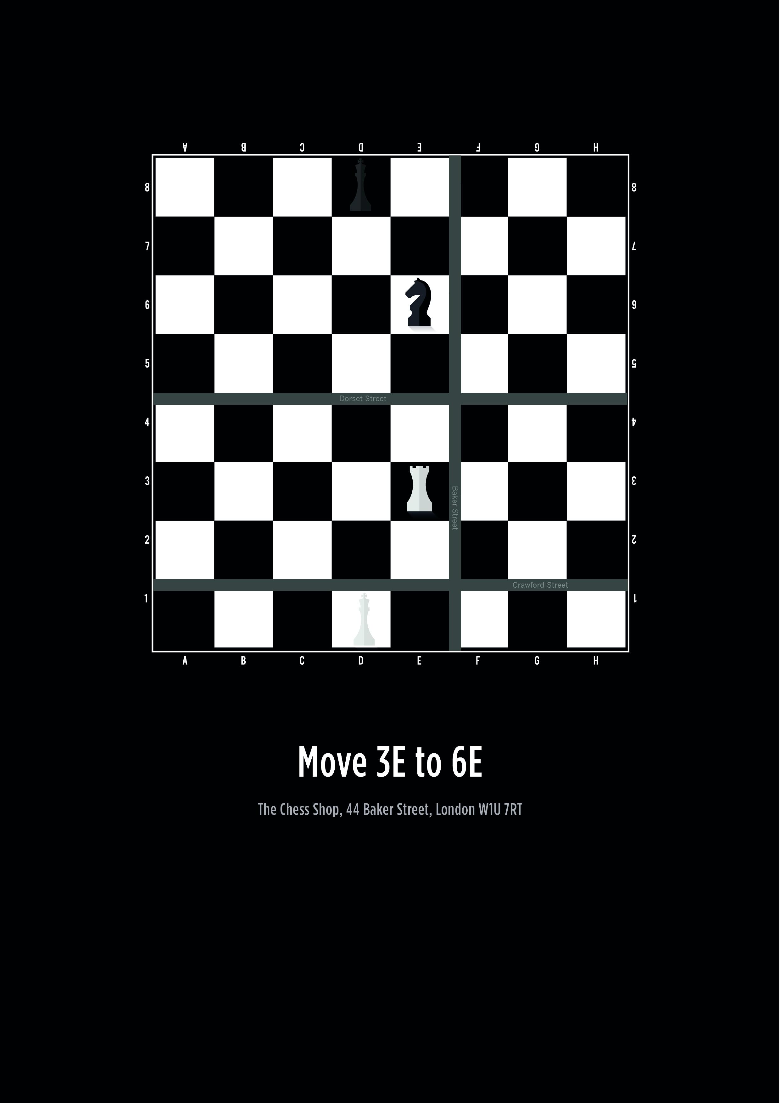 The Chess Shop Outdoor Ad - Your Move