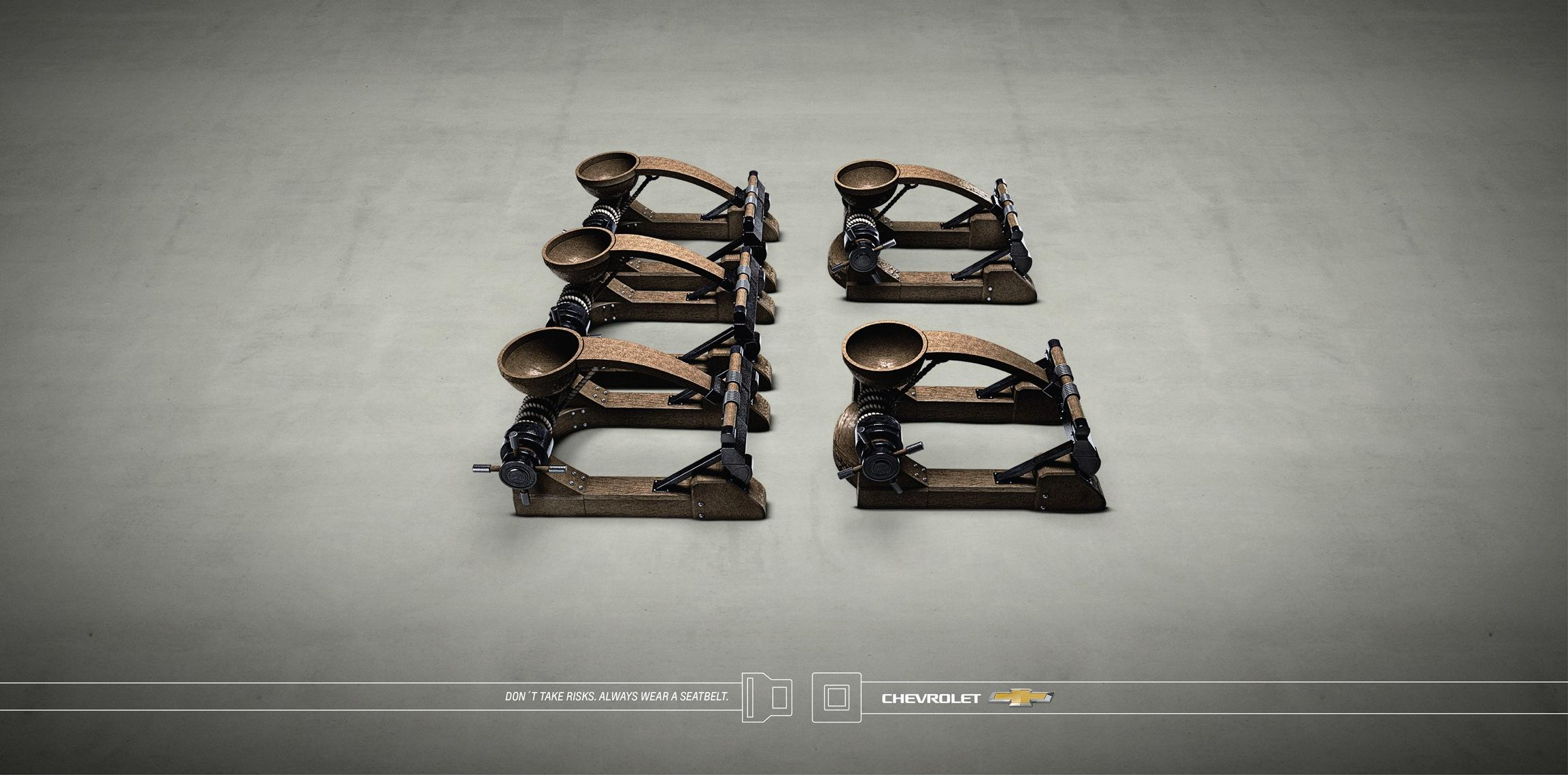 Chevrolet Print Ad -  Catapult