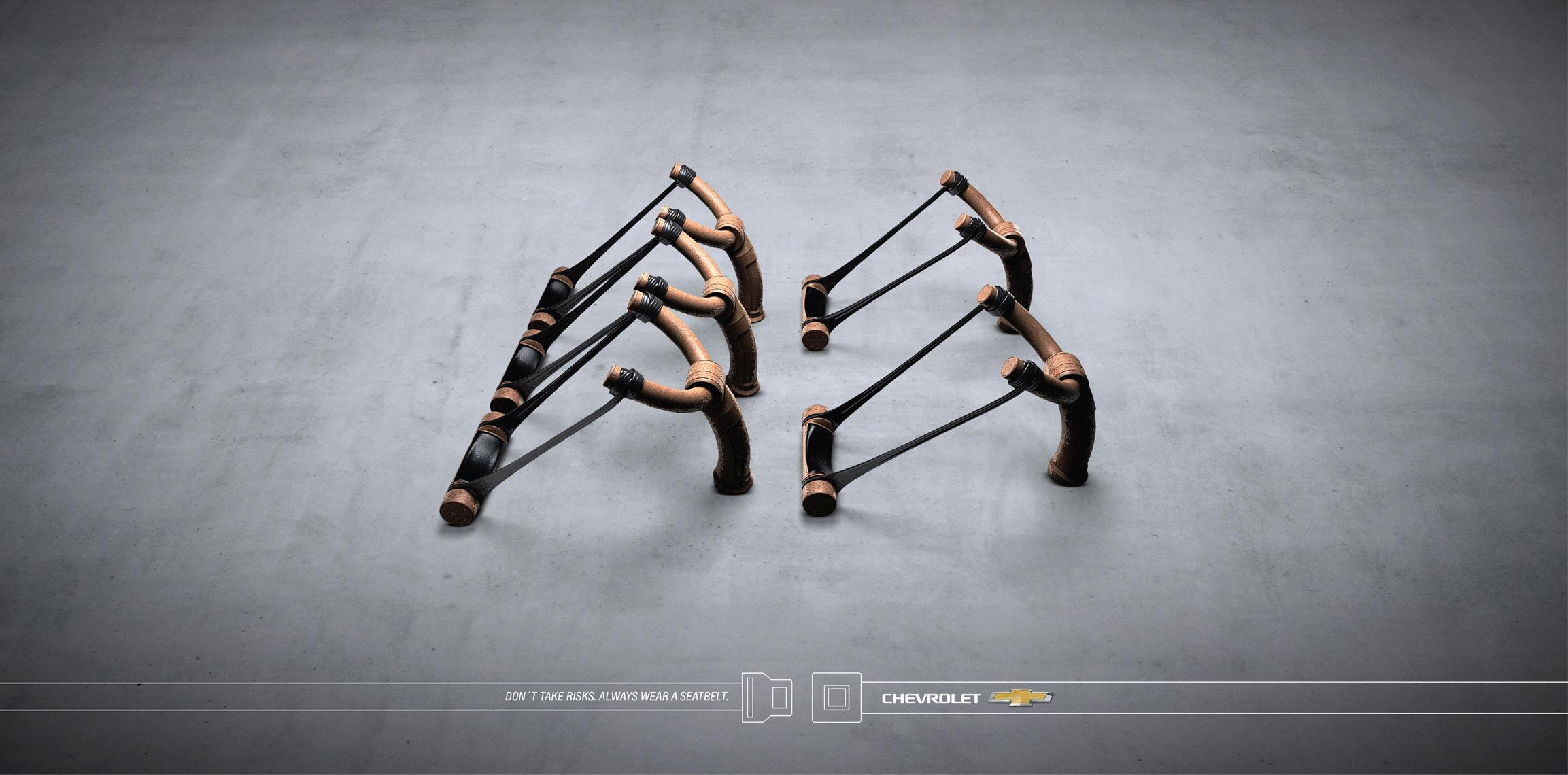 Chevrolet Print Ad -  Slingshot