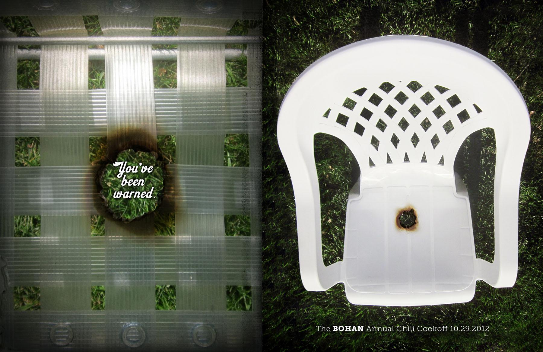 Bohan Print Ad -  Chair