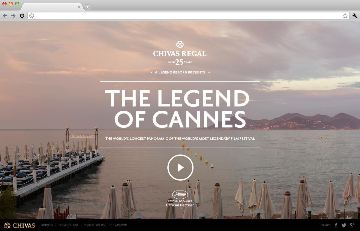 Chivas Regal Digital Ad -  The Legend of Cannes
