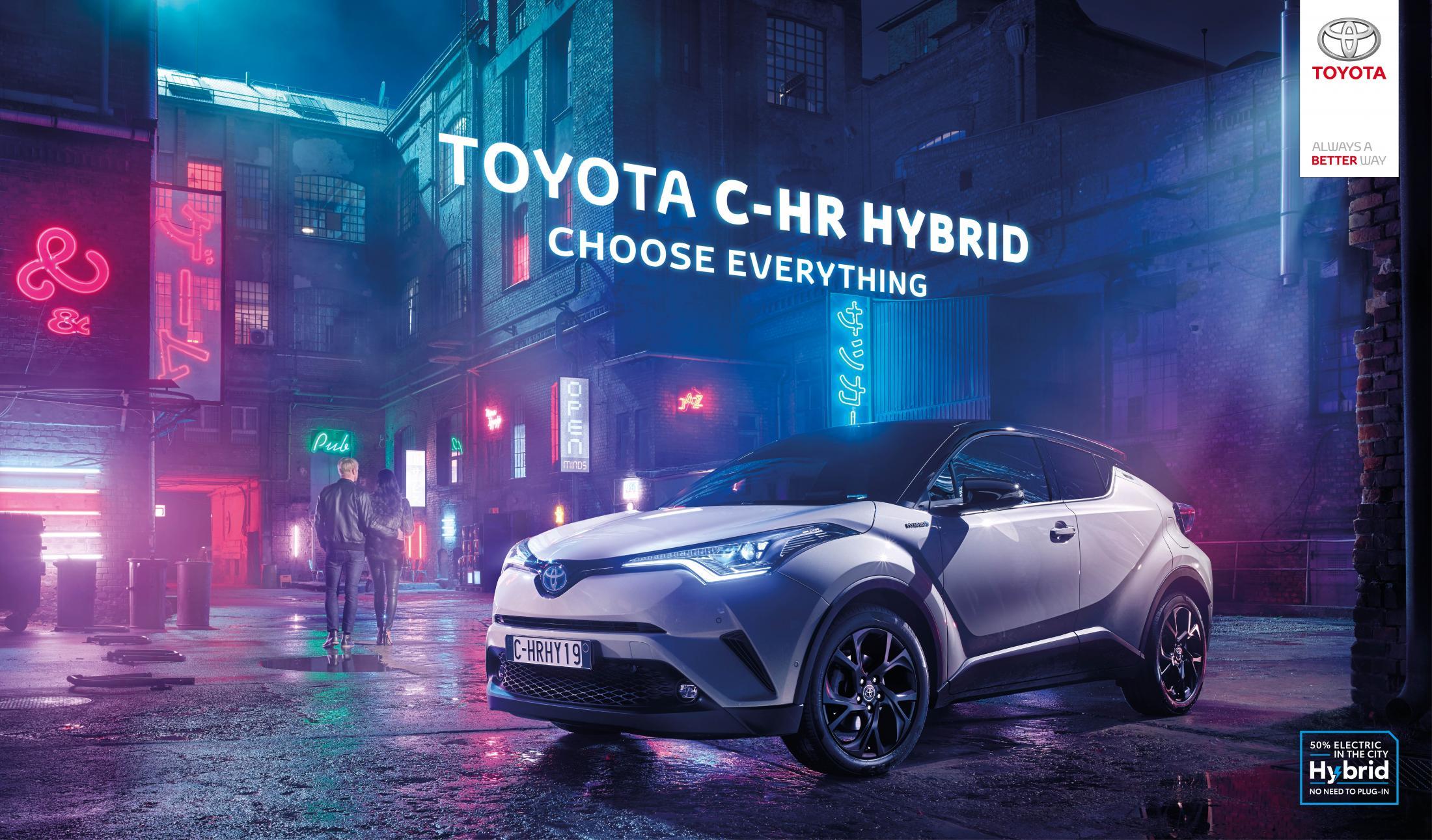 Toyota Print Ad - Choose Everything - Tokyo