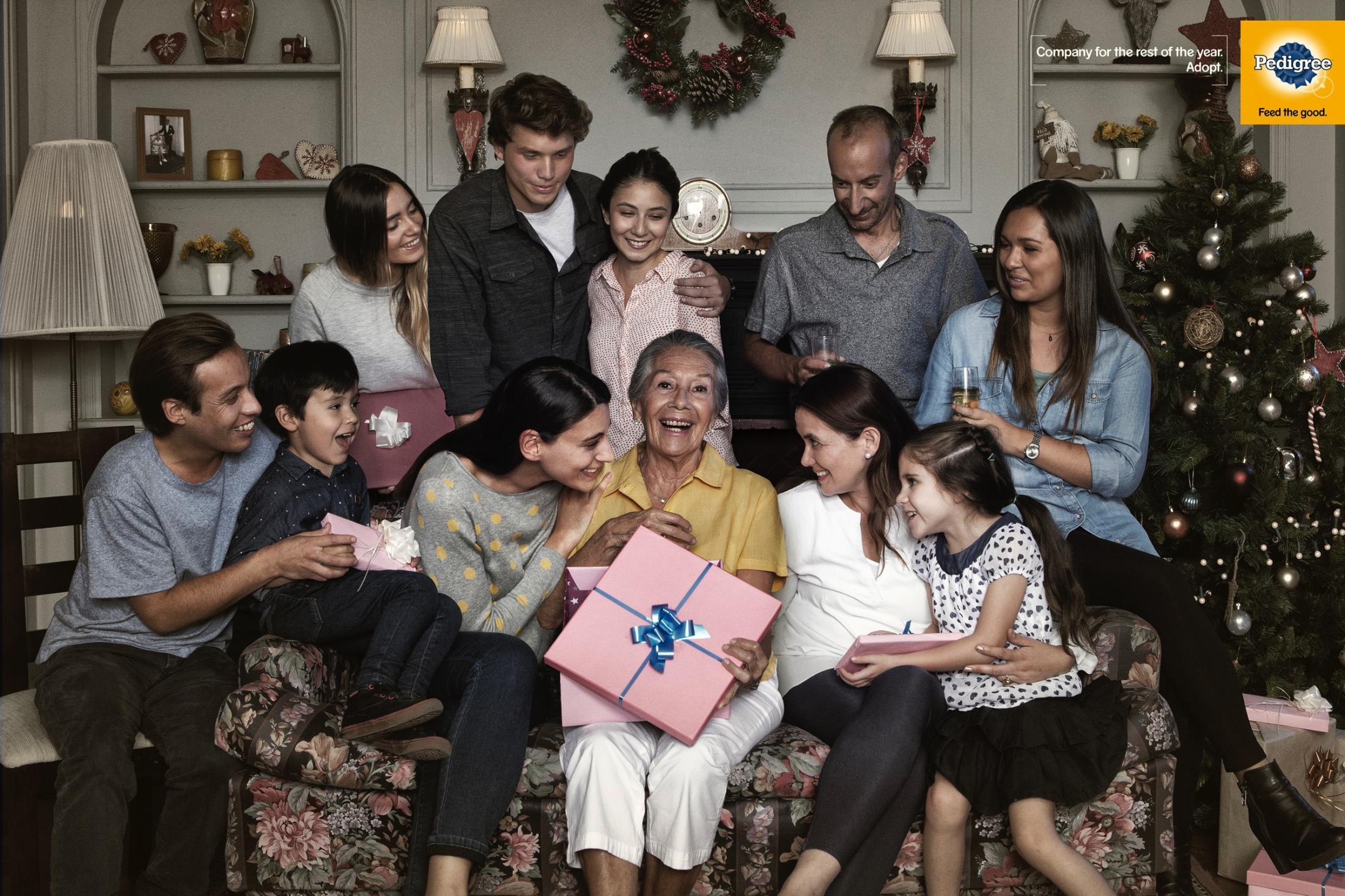 Pedigree Print Ad - Christmas